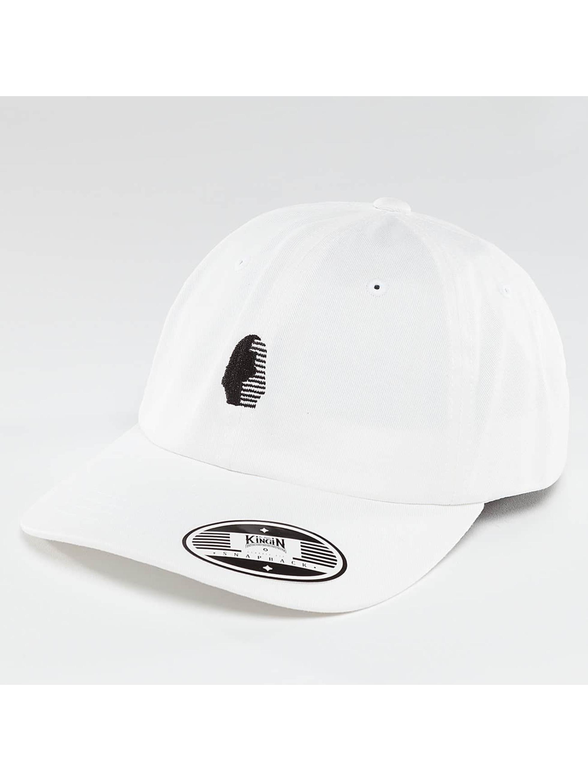 Kingin Snapback Caps OG valkoinen