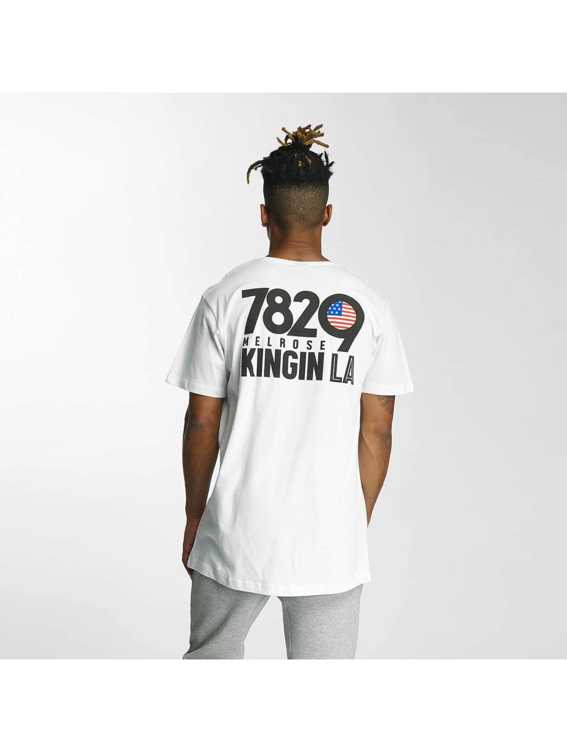 Kingin T-paidat Melrose valkoinen