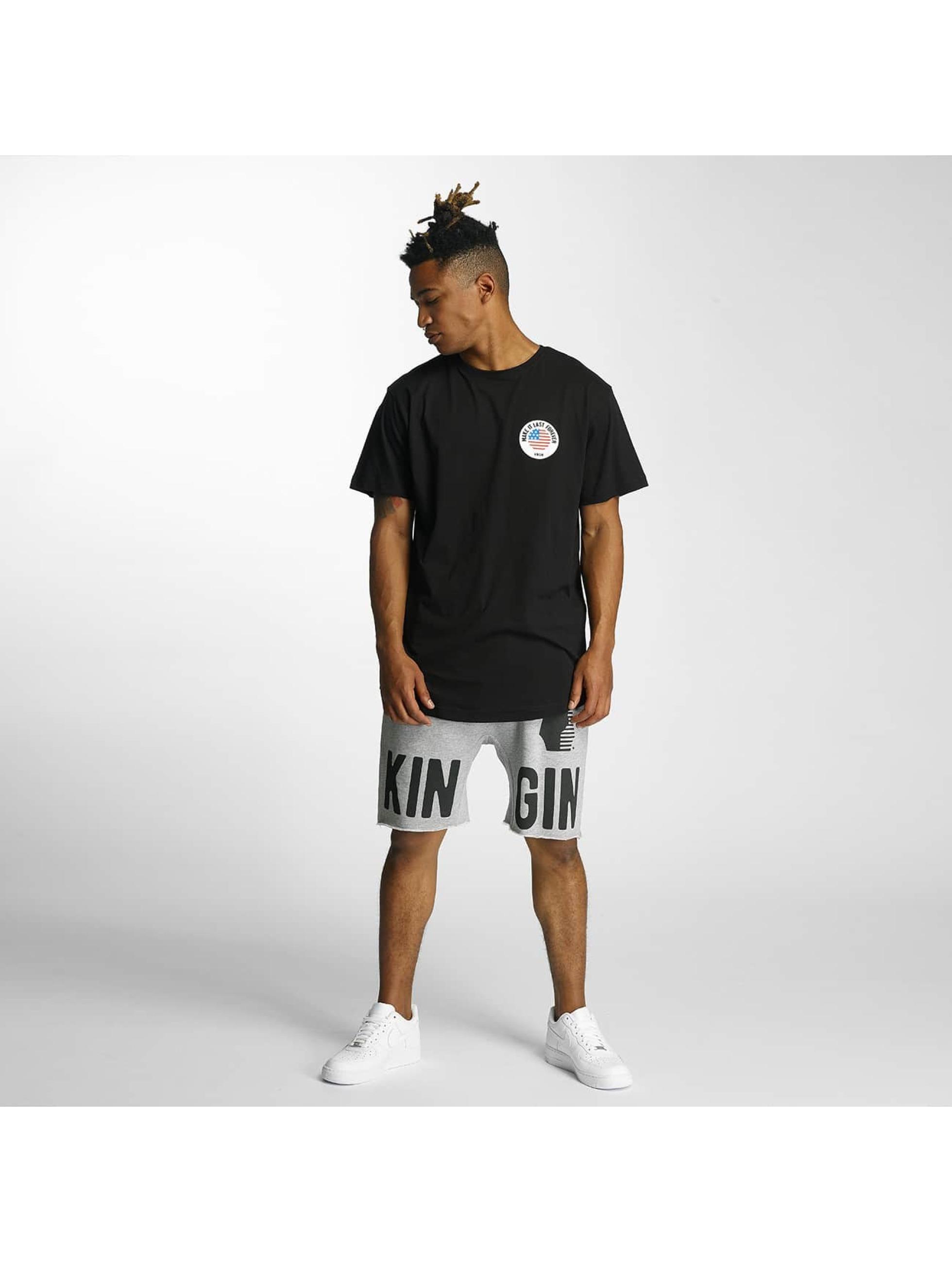 Kingin T-Shirt Melrose schwarz
