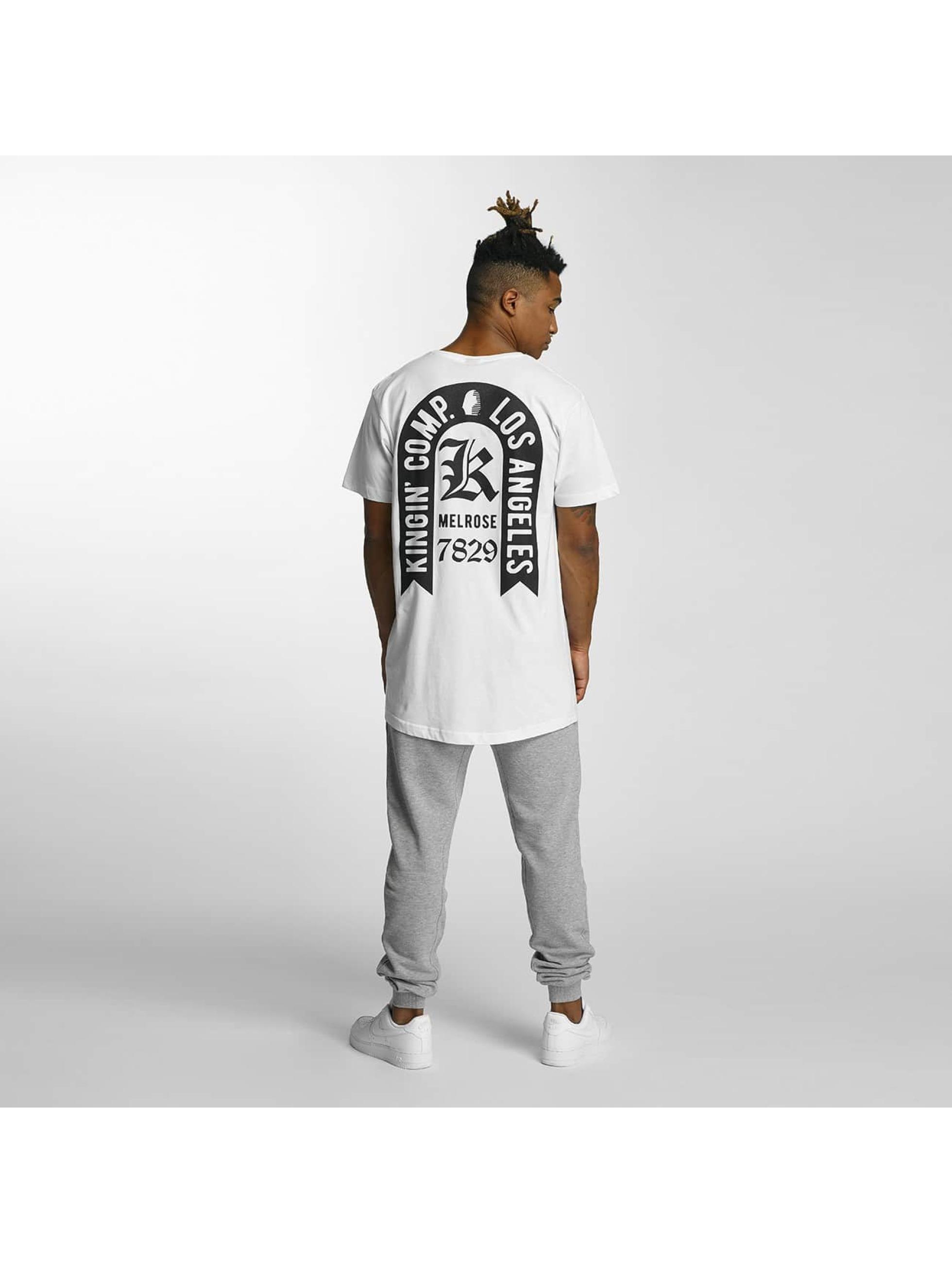 Kingin T-Shirt Comp. weiß