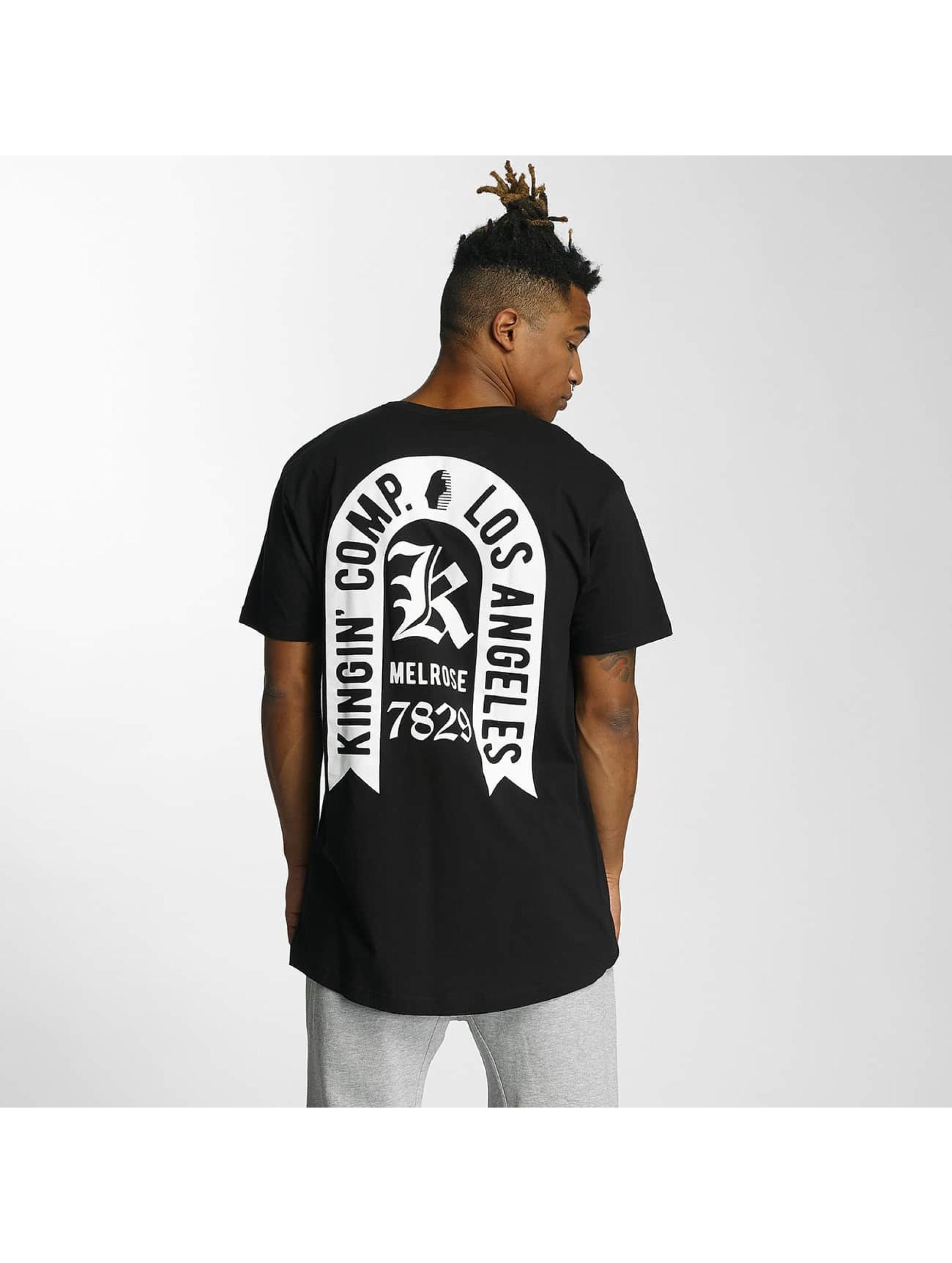 Kingin t-shirt Comp. zwart