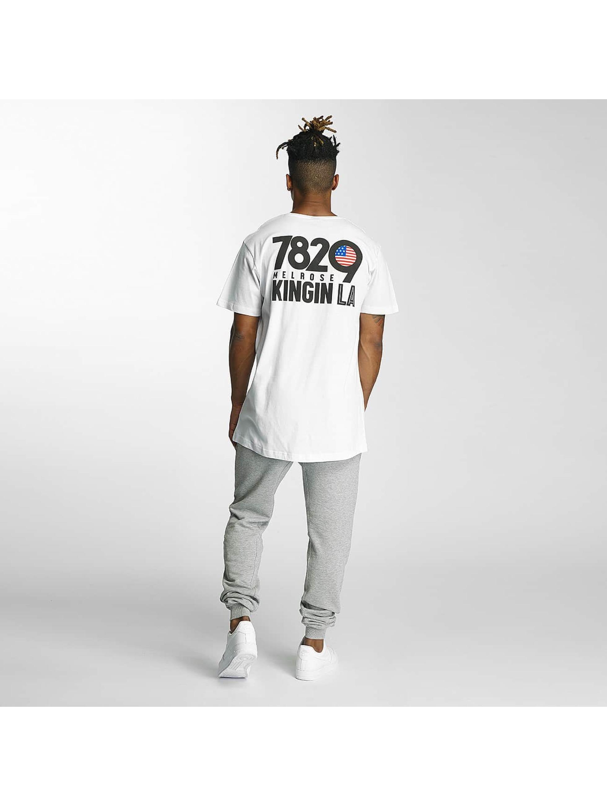 Kingin T-shirts Melrose hvid