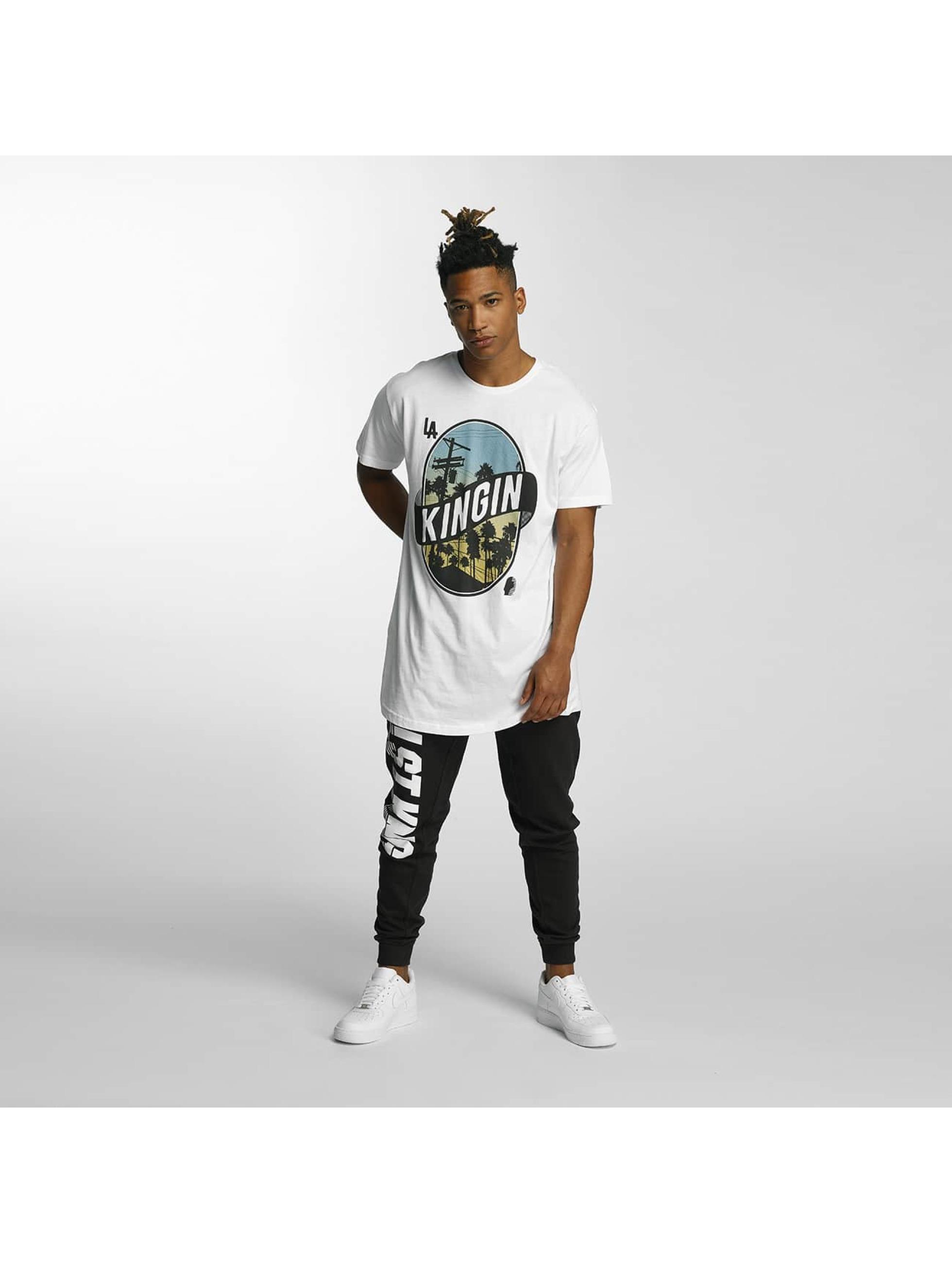 Kingin T-shirts LA Streets hvid