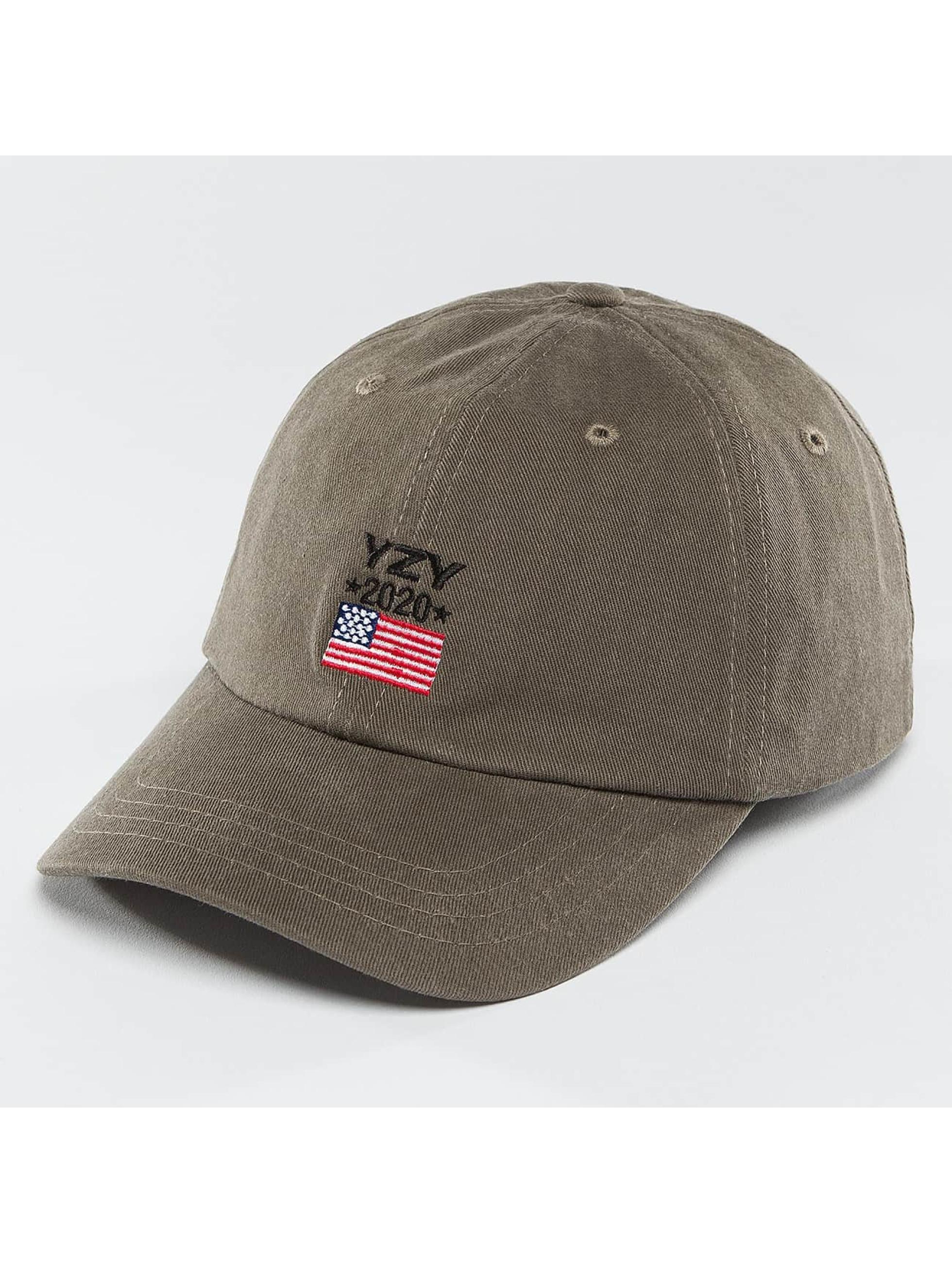 Kreem Snapback Caps YZY 2020 Dad šedá