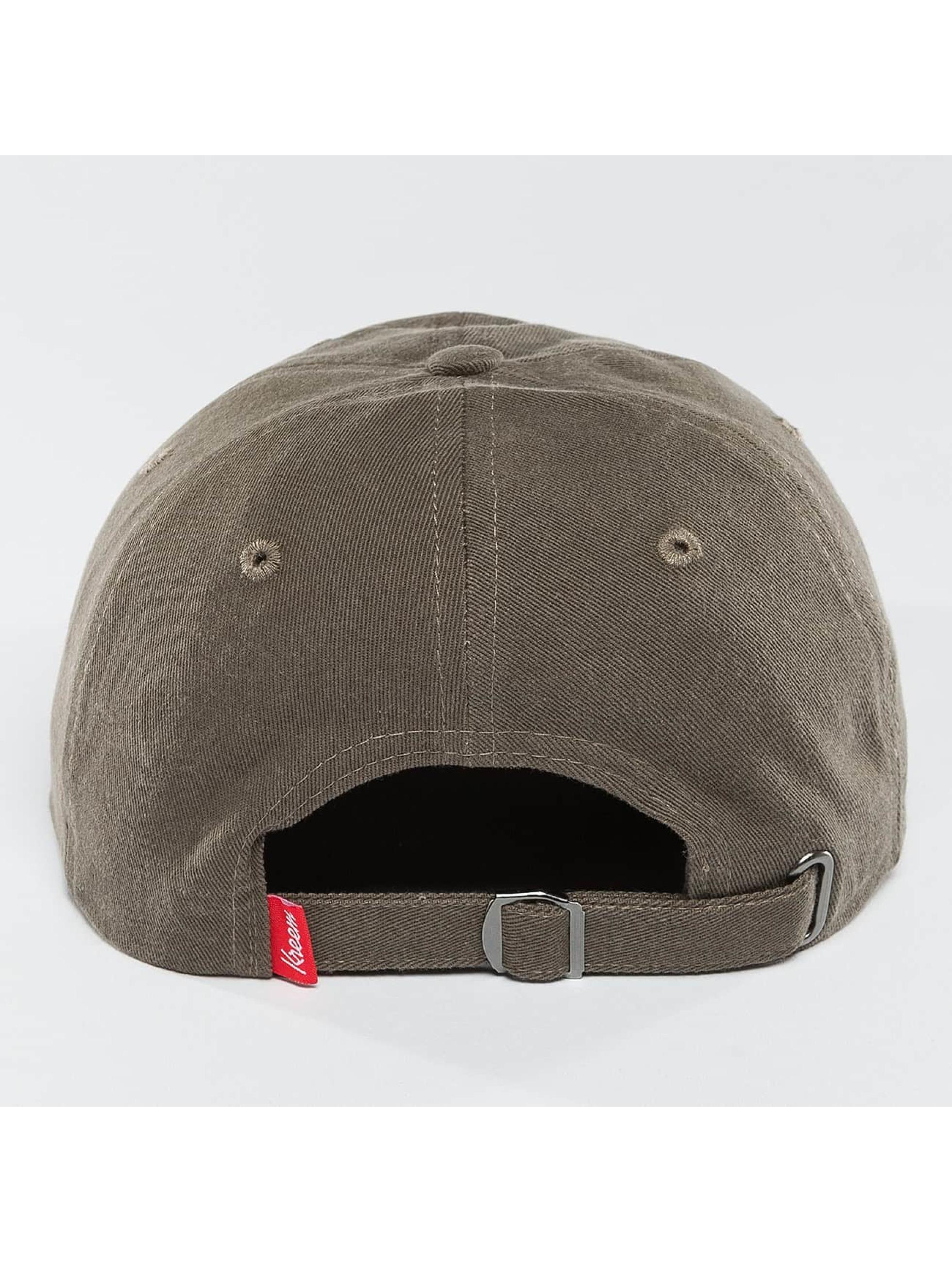 Kreem Snapback Caps YZY 2020 Dad grå