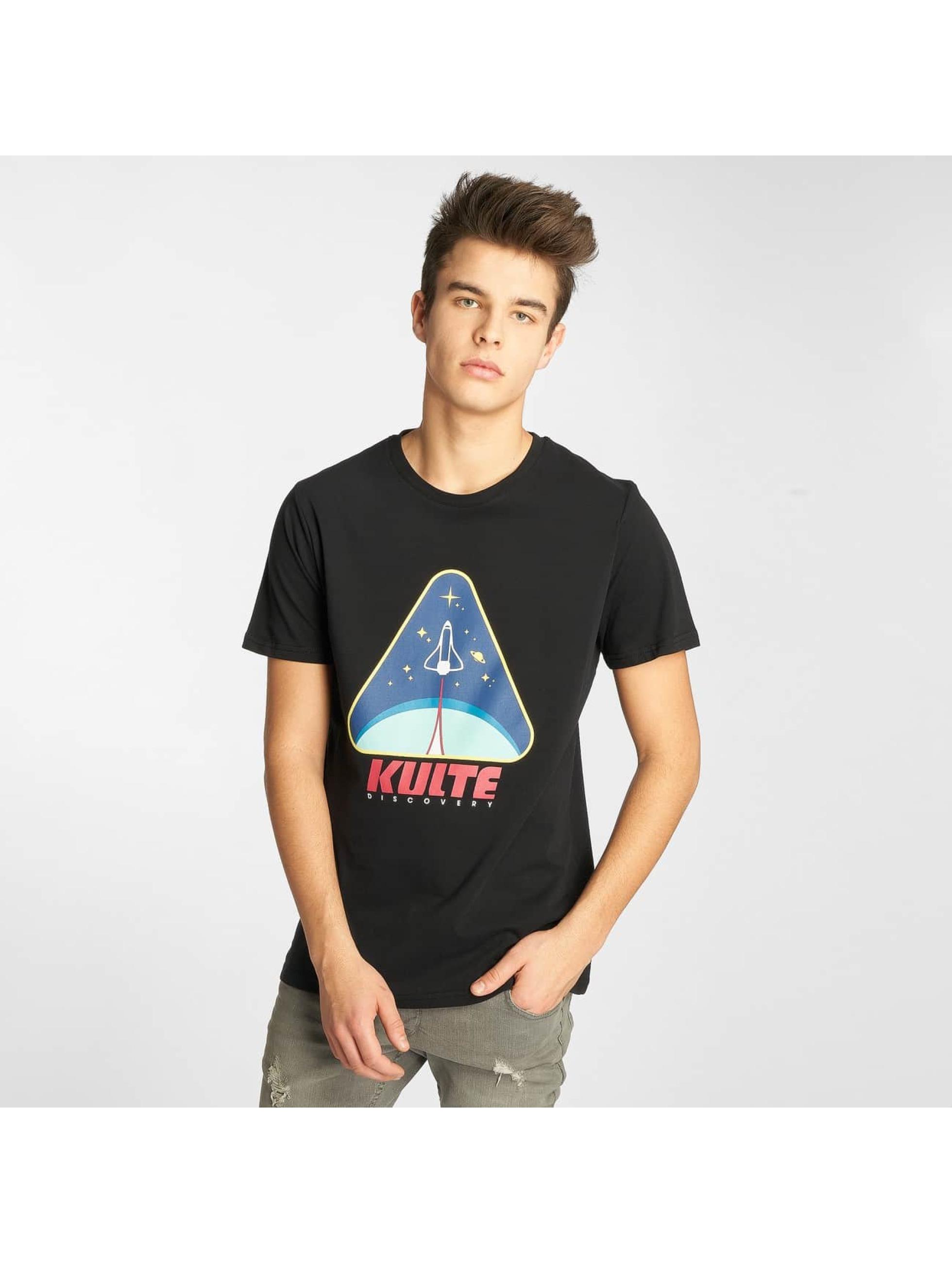 Kulte Camiseta Discovery negro