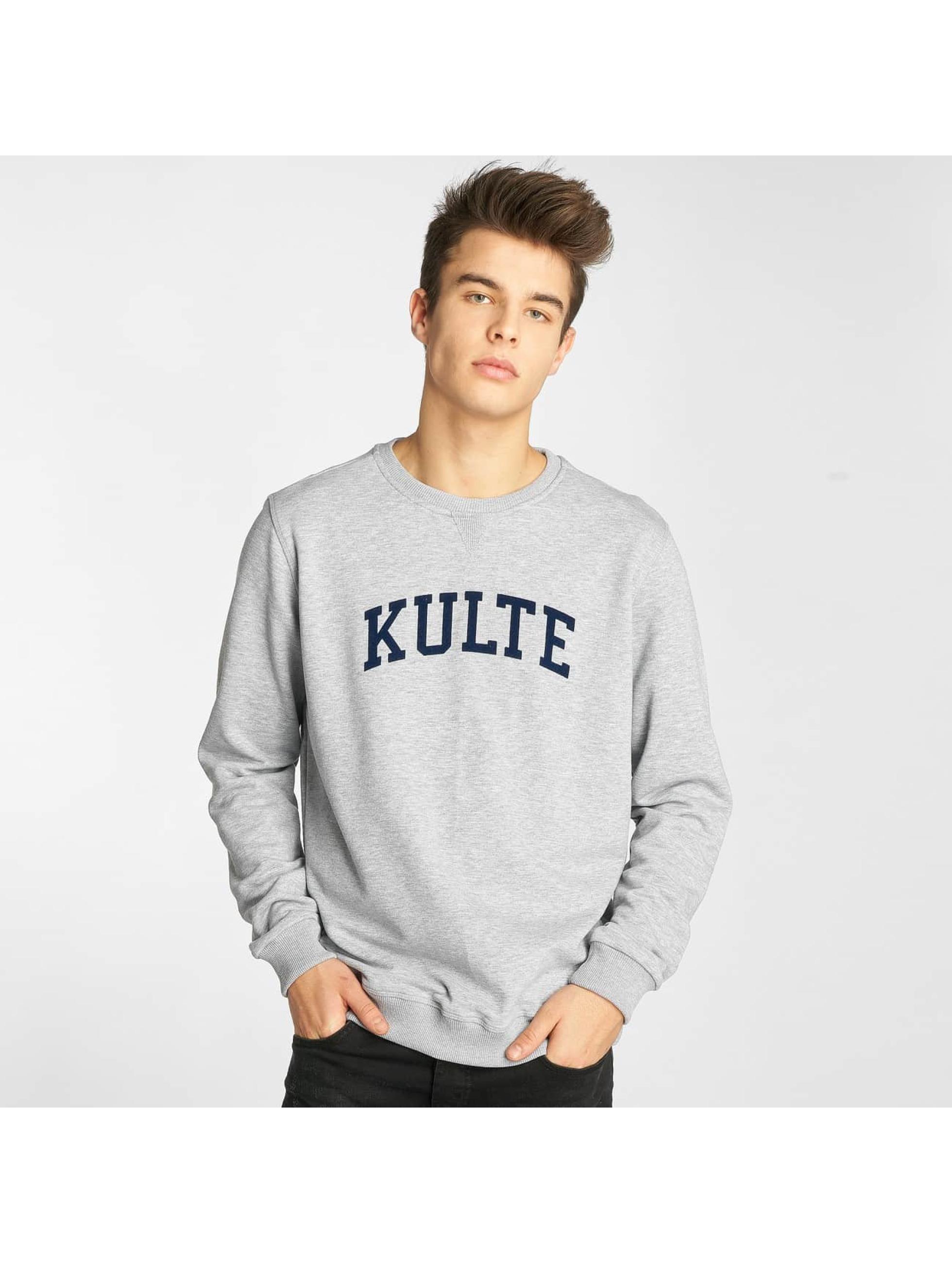 Kulte Pullover Corpo College grau