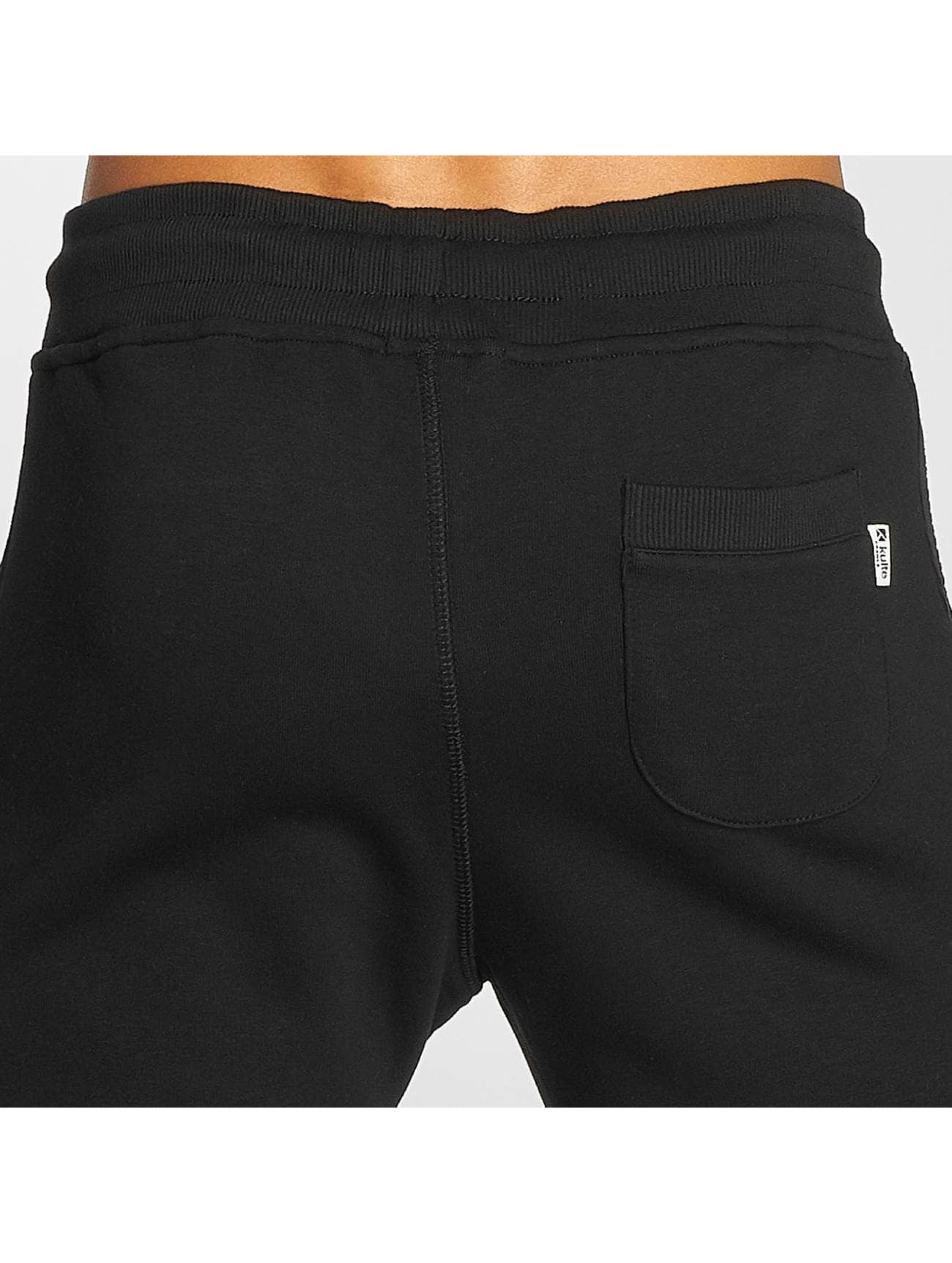 Kulte Spodnie do joggingu Jog Sweat czarny