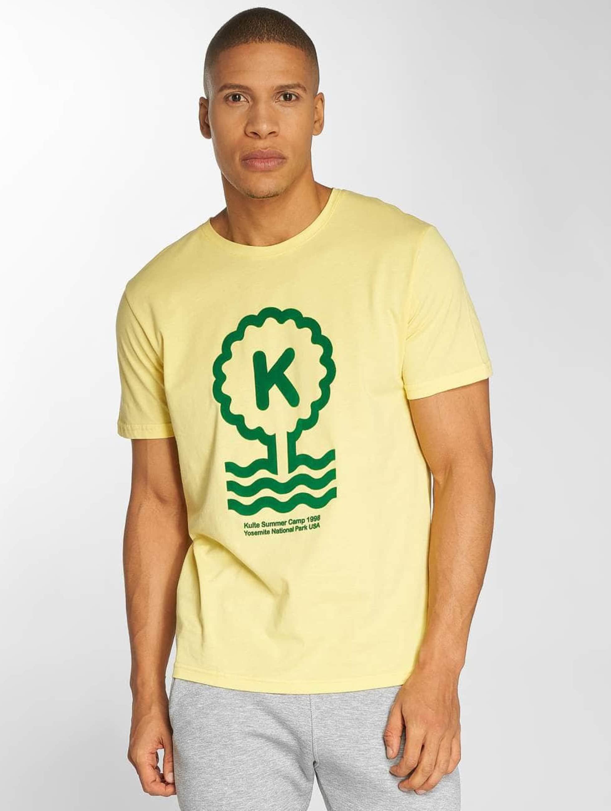 Kulte t-shirt Summer Cam geel