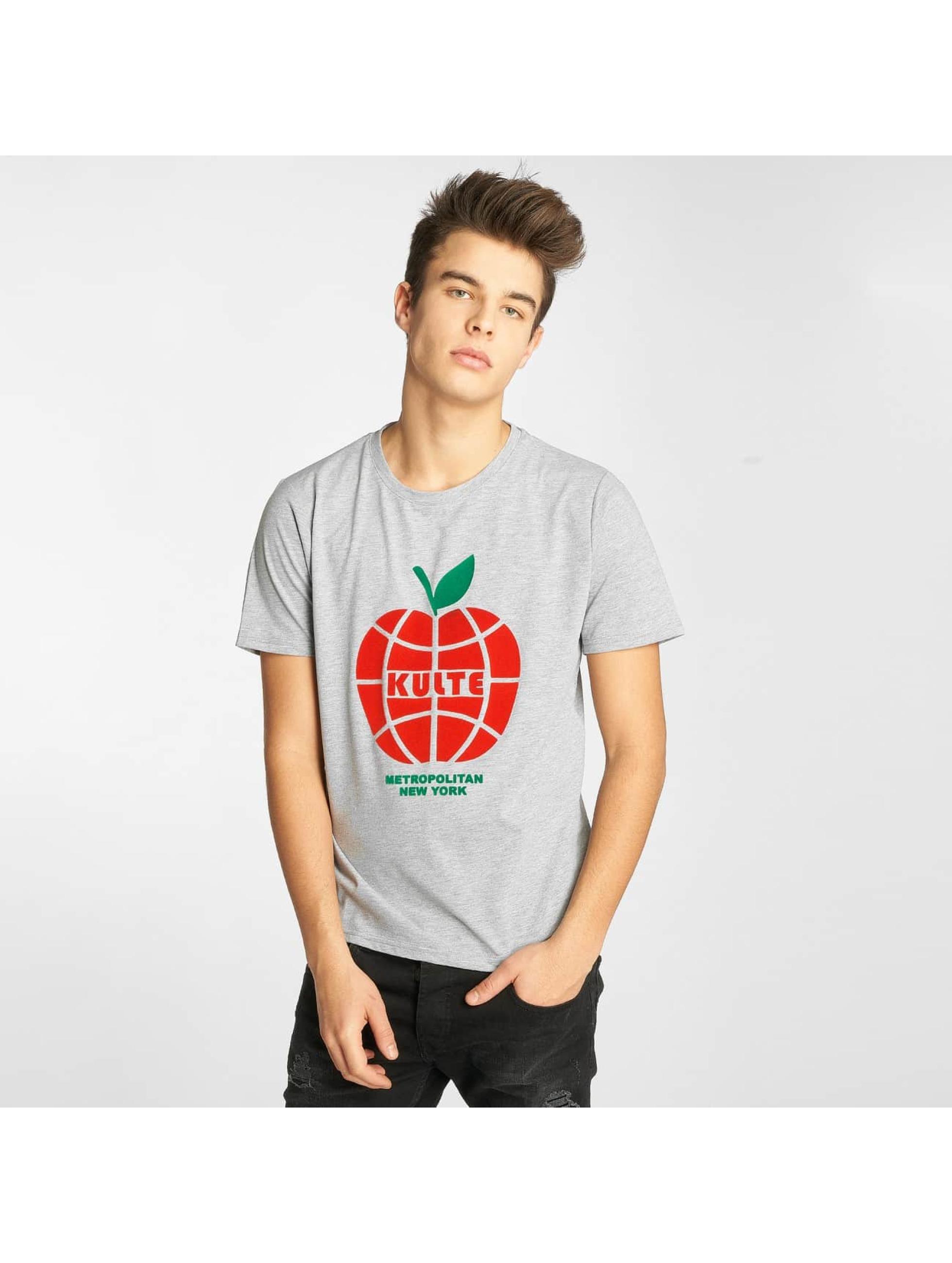 Kulte t-shirt New York grijs