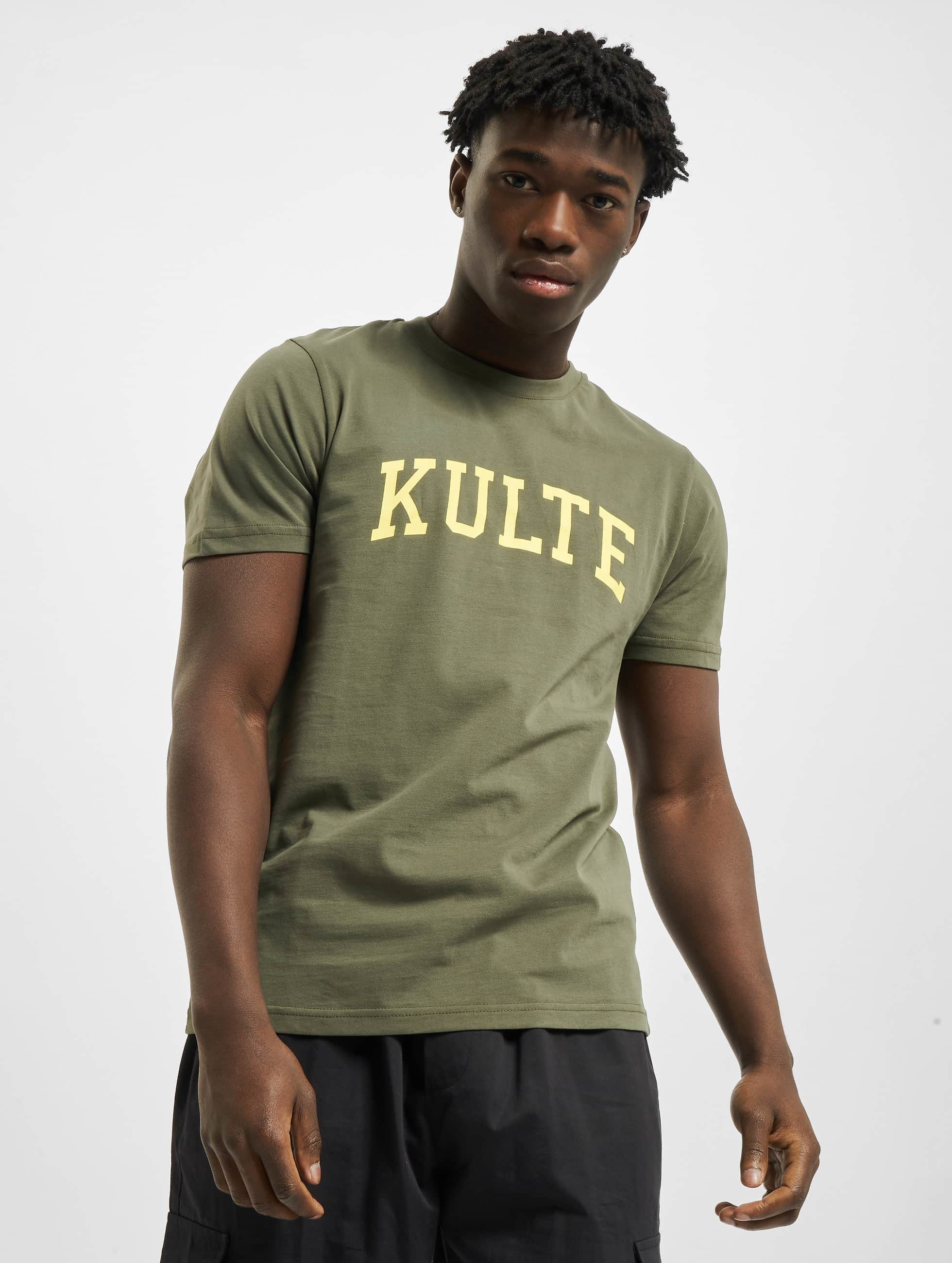 Kulte t-shirt Corpo College khaki