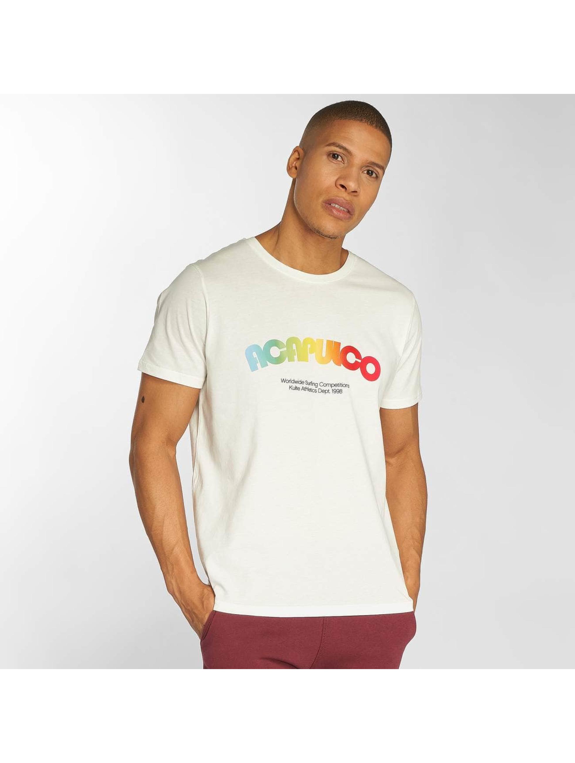 Kulte T-Shirt Acapulco weiß