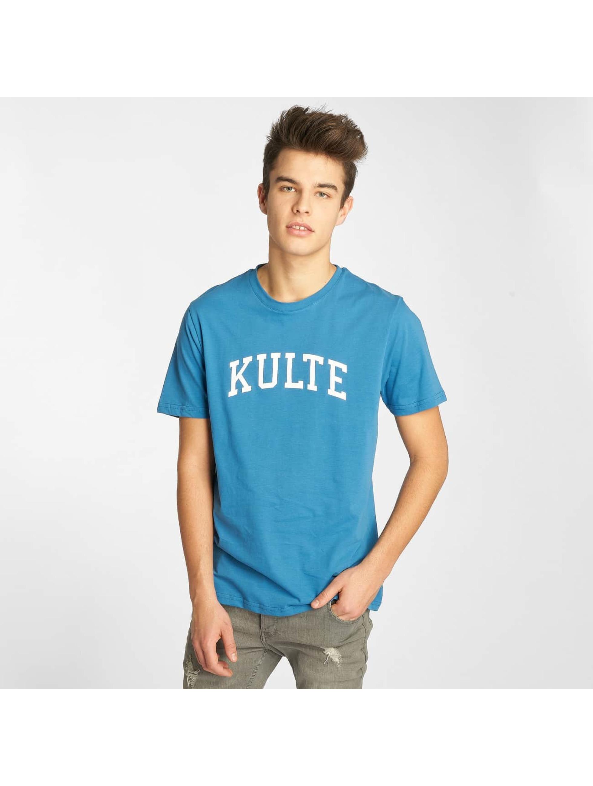 Kulte T-Shirty Corpo College niebieski