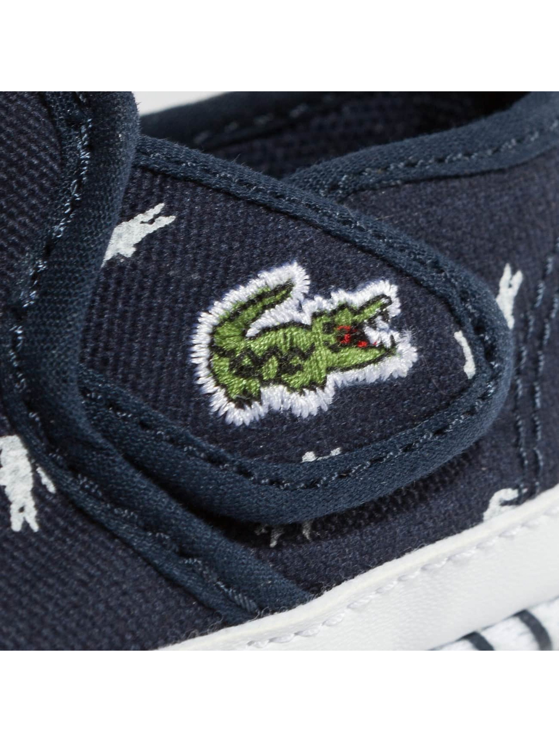 Lacoste Baskets Gazon bleu