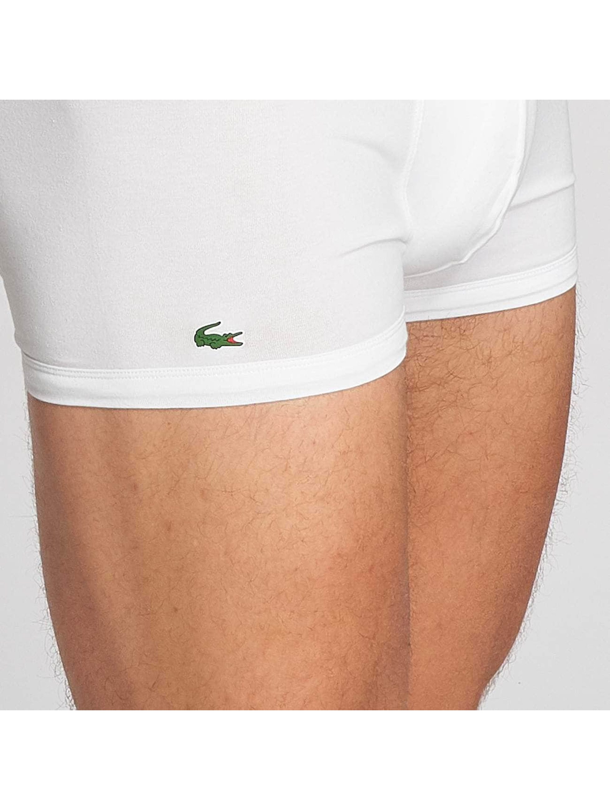 Lacoste Boxershorts 3-Pack Trunk weiß