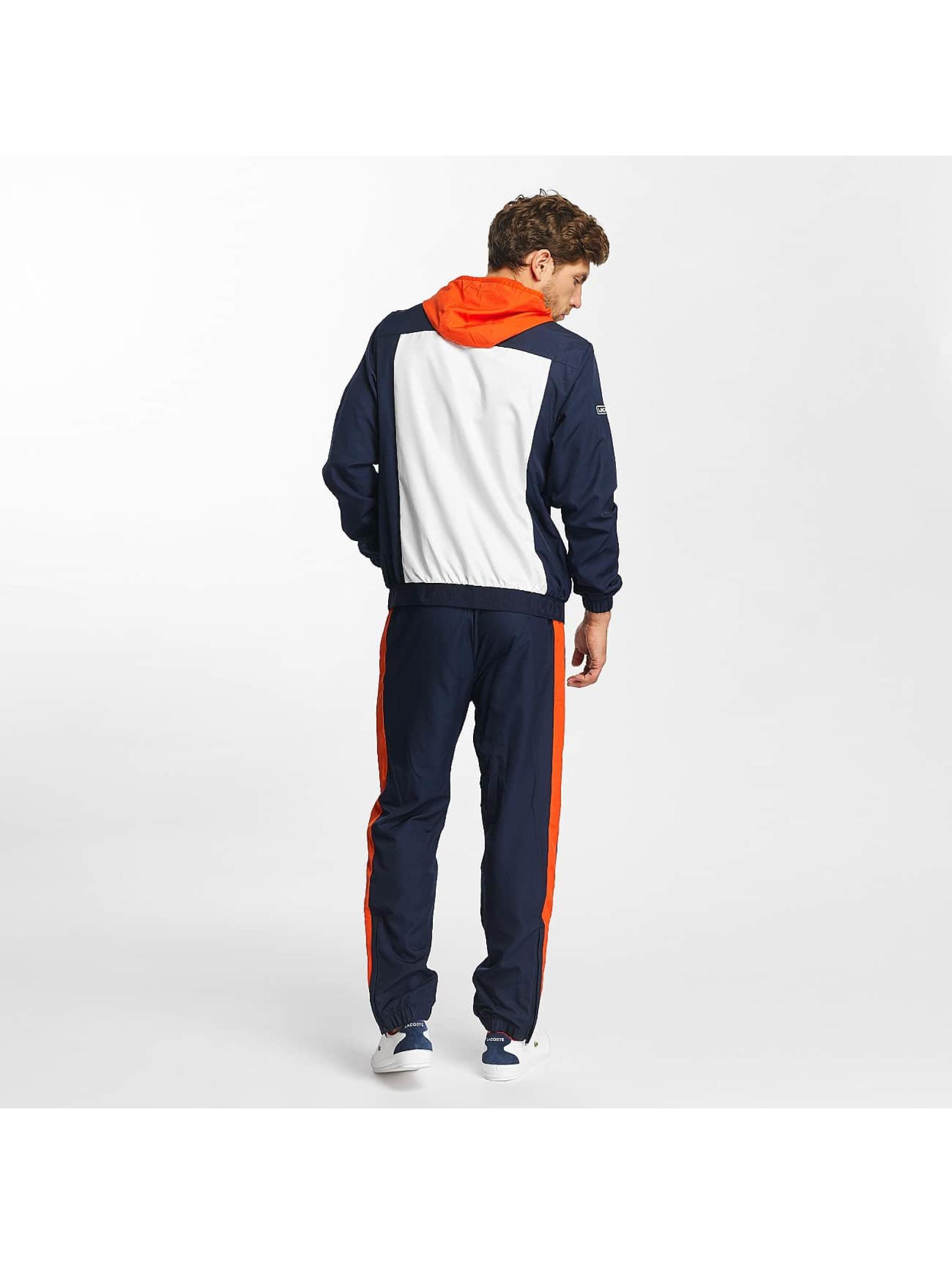 Lacoste Classic Anzug Sport Tennis Colorblocks blau
