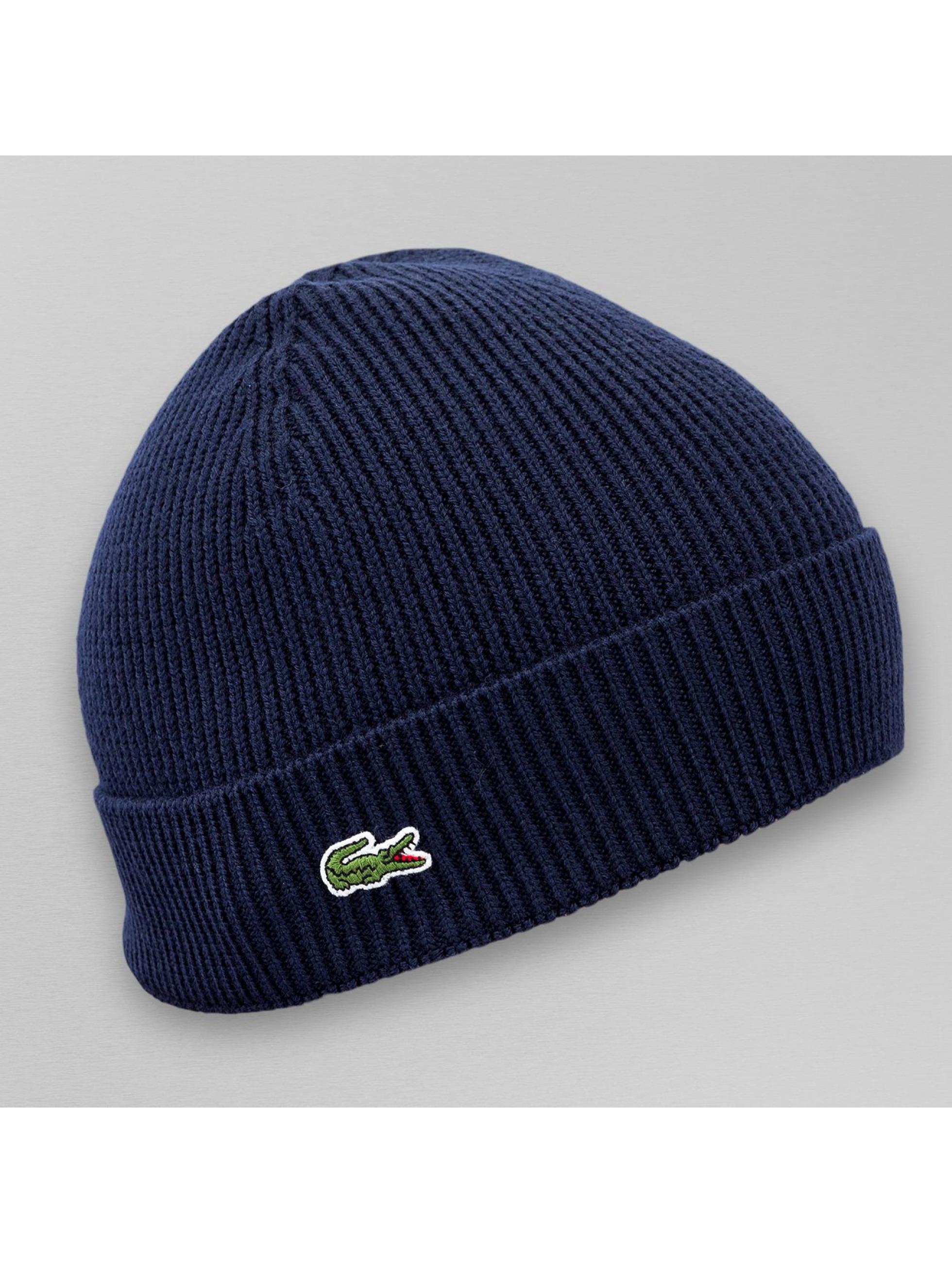 c411d206069 Lacoste Classic Bonnet Half Cardigan Rib bleu ...
