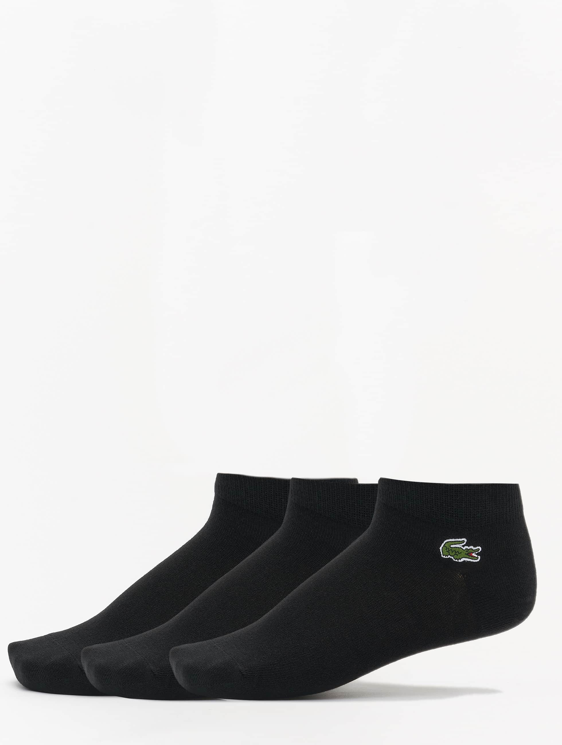 Lacoste Classic Chaussettes 3er-Pack Socks noir