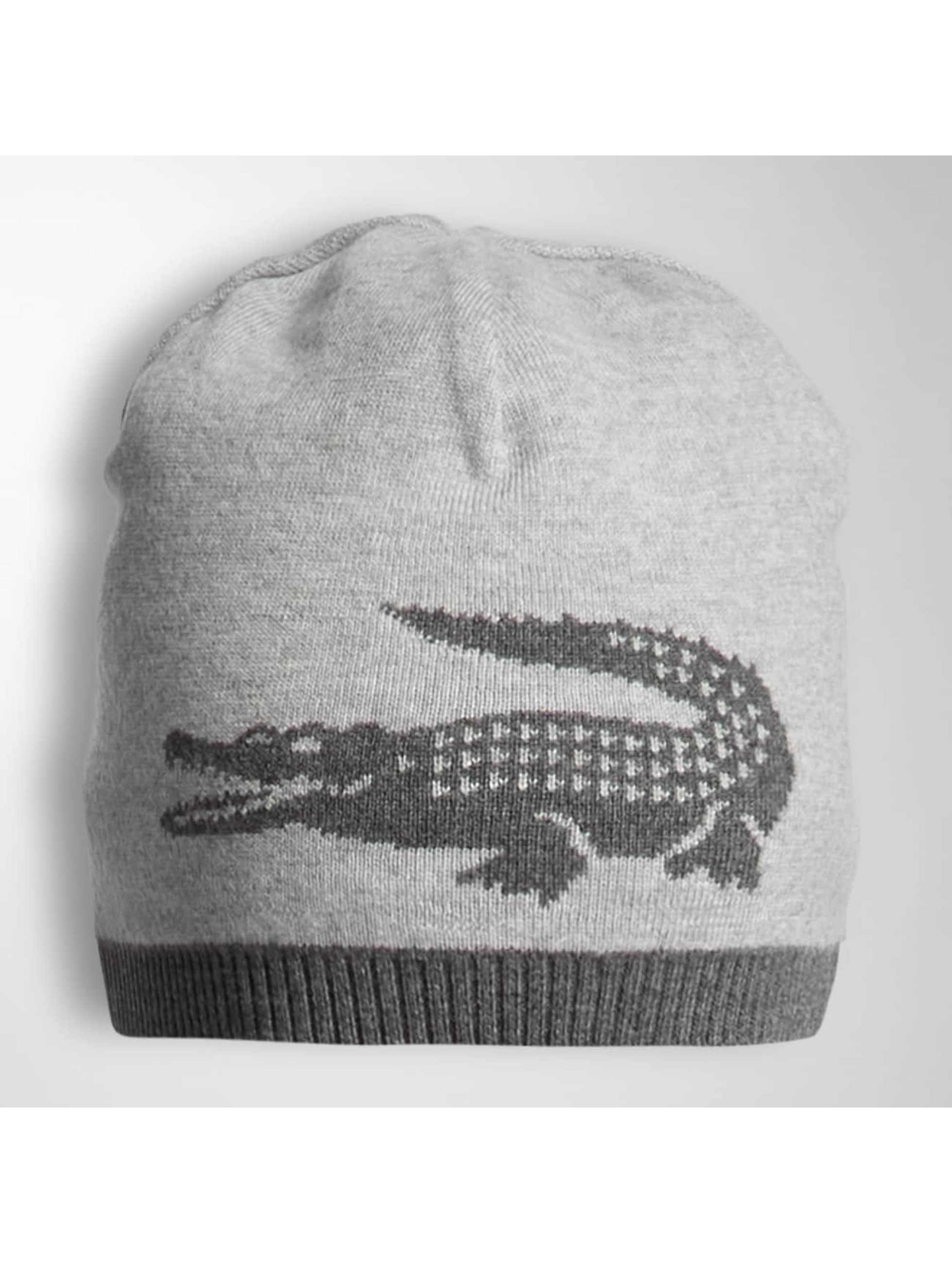 Lacoste Classic Hat-1 Jacquard Jersey gray