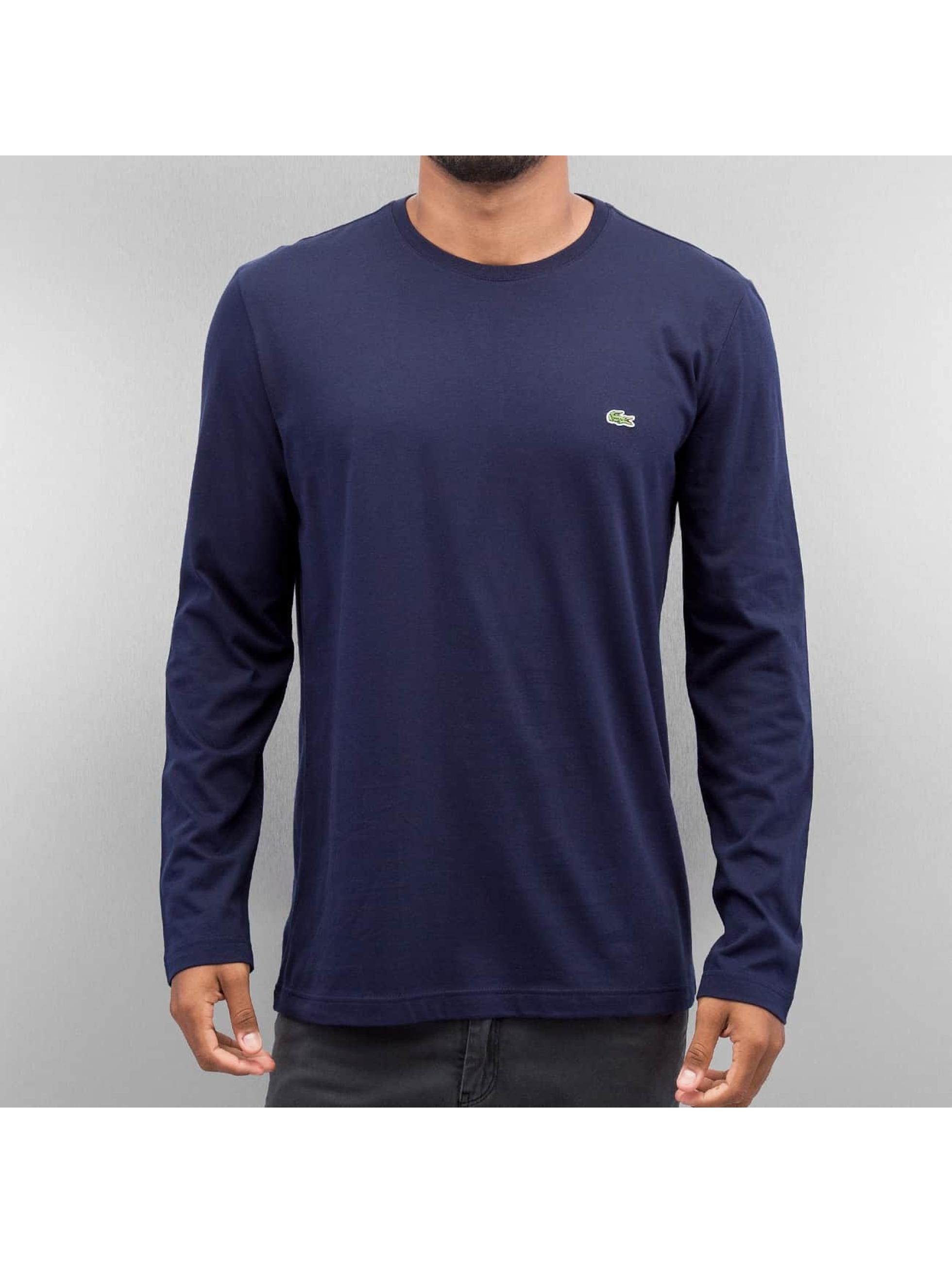 Lacoste Classic Pitkähihaiset paidat Classic sininen