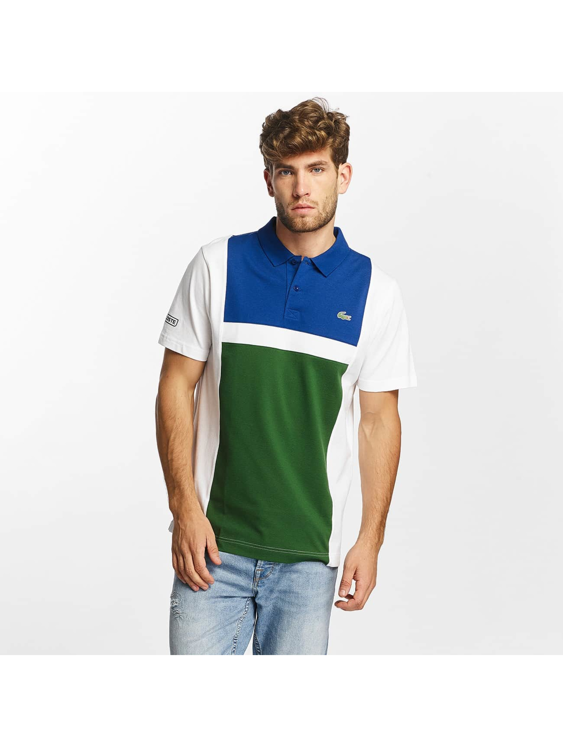 Lacoste Classic Poloshirt Short Sleeved Ribbed Collar colored