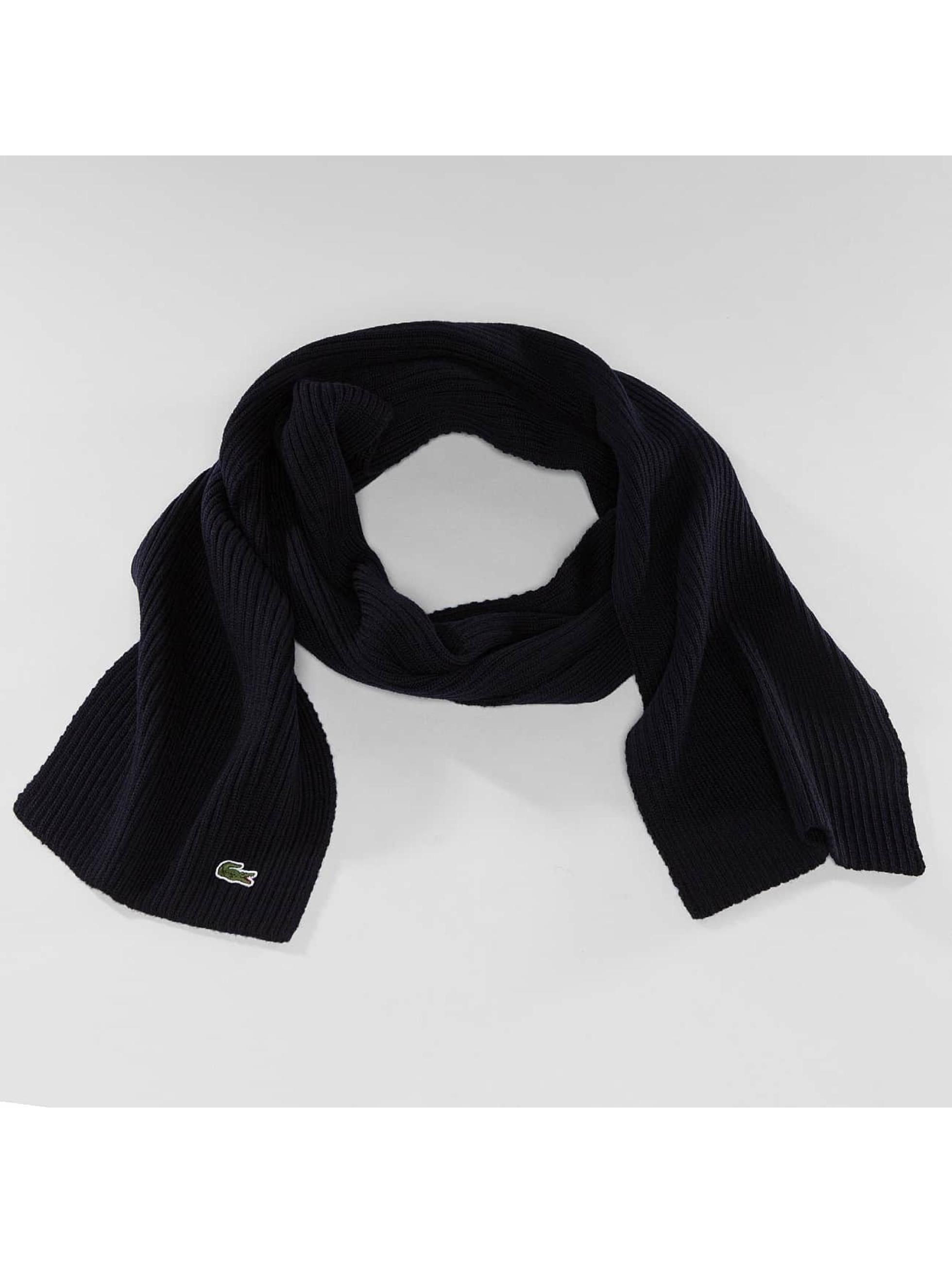 Lacoste Classic Sjal/Duk Knitted blå