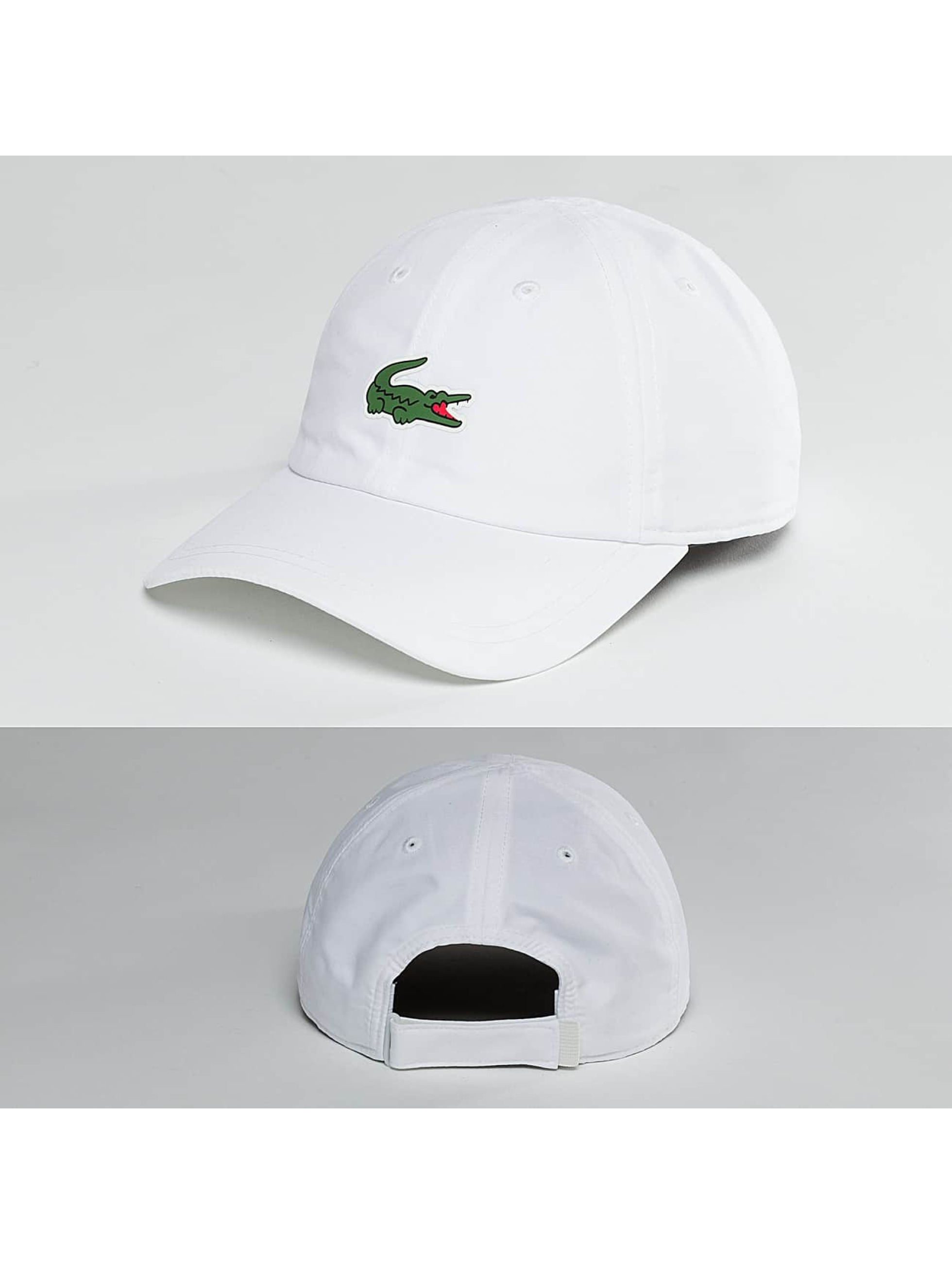 Lacoste Classic snapback cap Logo - wit