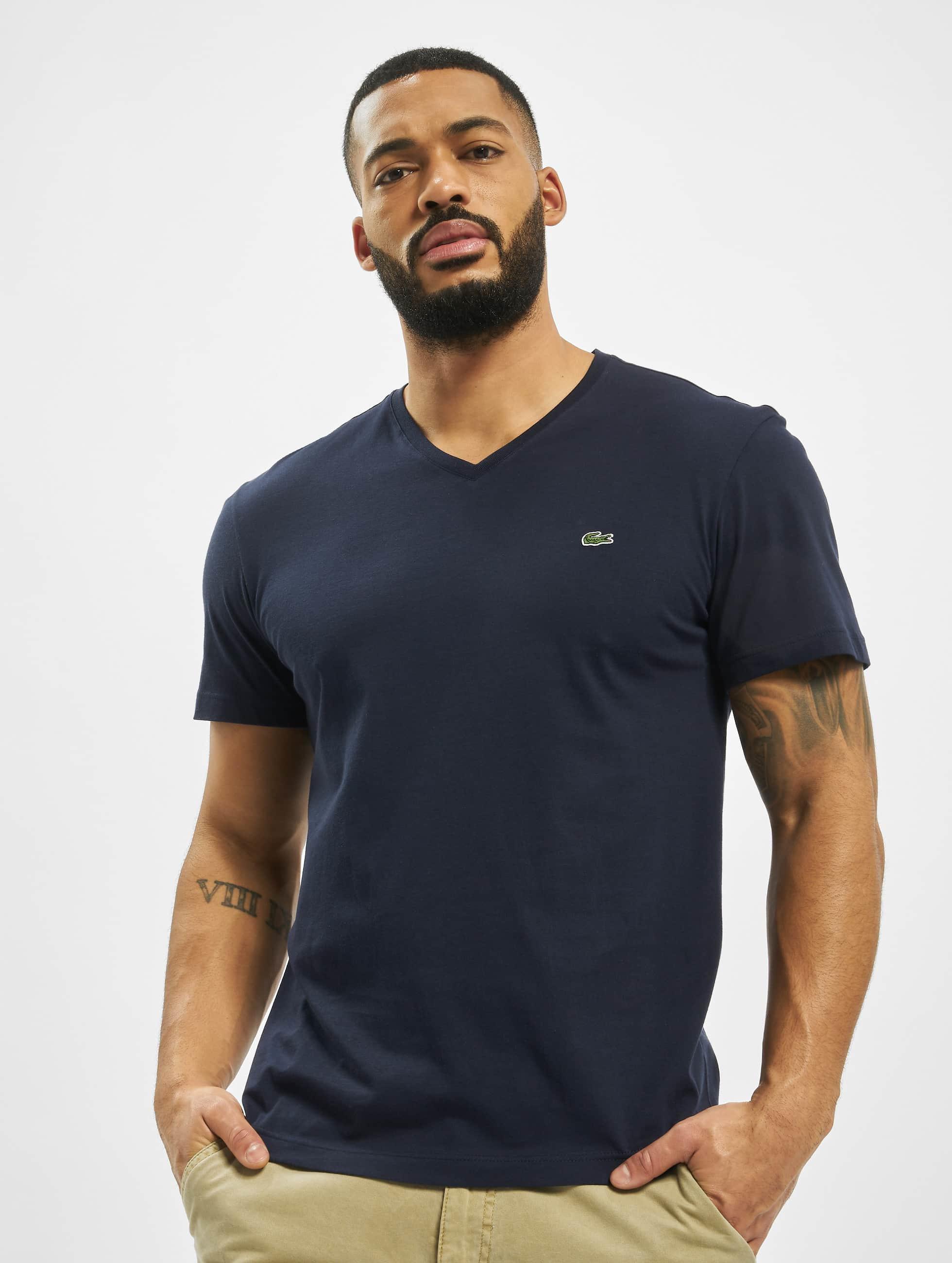 Lacoste Classic t-shirt Classic blauw