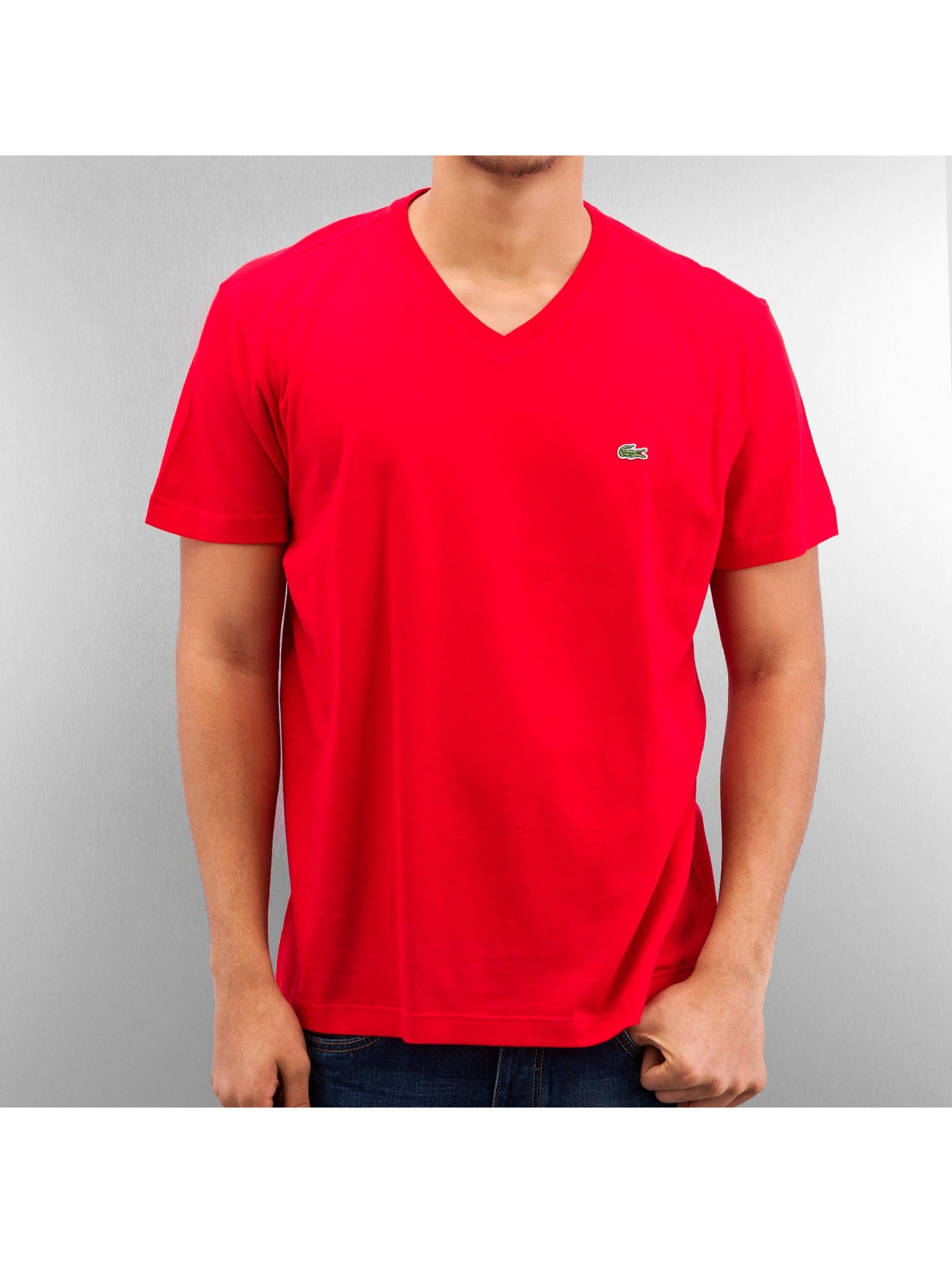 lacoste classic classic rouge homme t shirt lacoste classic acheter pas cher haut 163977. Black Bedroom Furniture Sets. Home Design Ideas