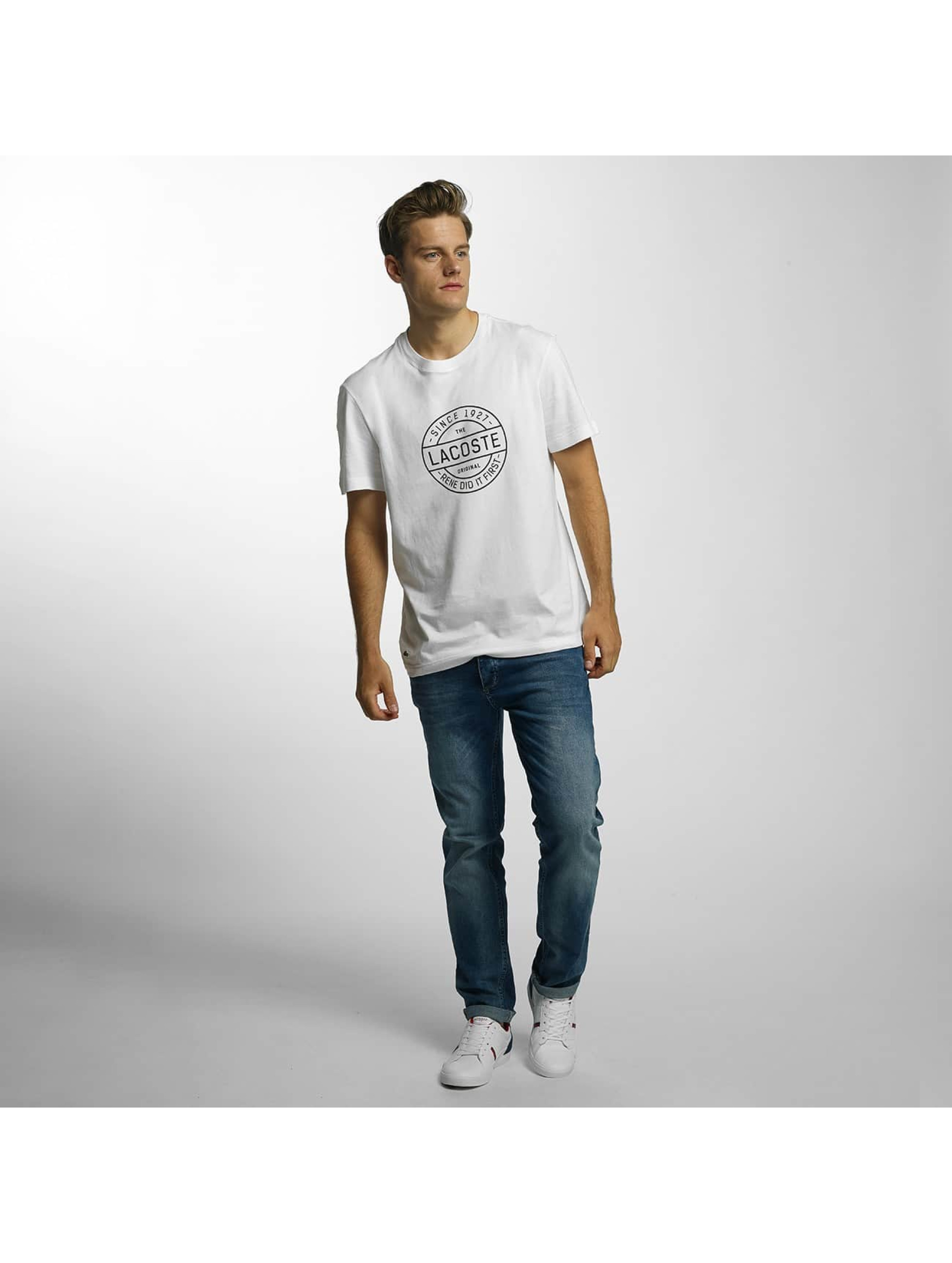 Lacoste Classic T-Shirty Original bialy