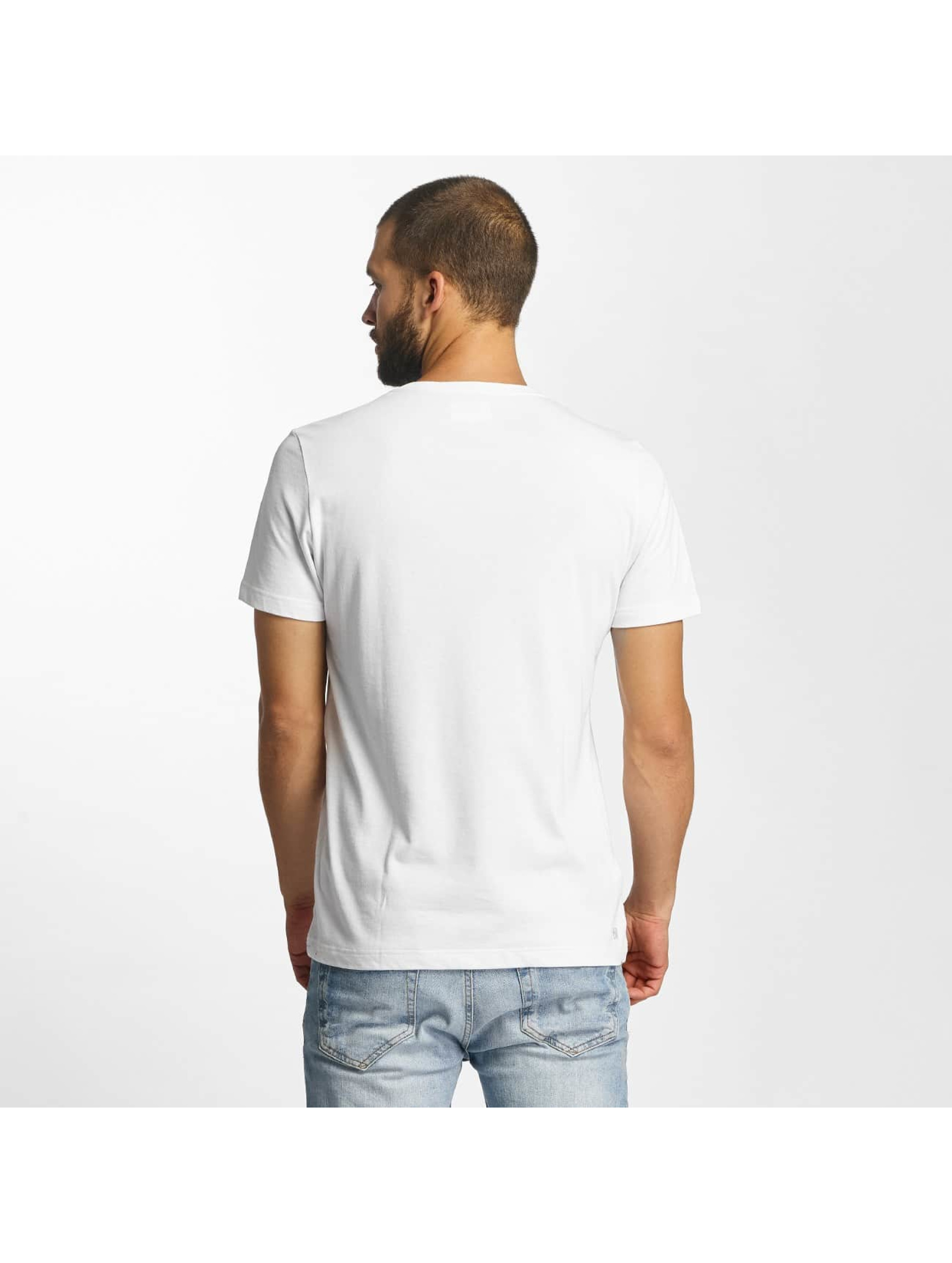 Lacoste Classic T-Shirty Kroko bialy
