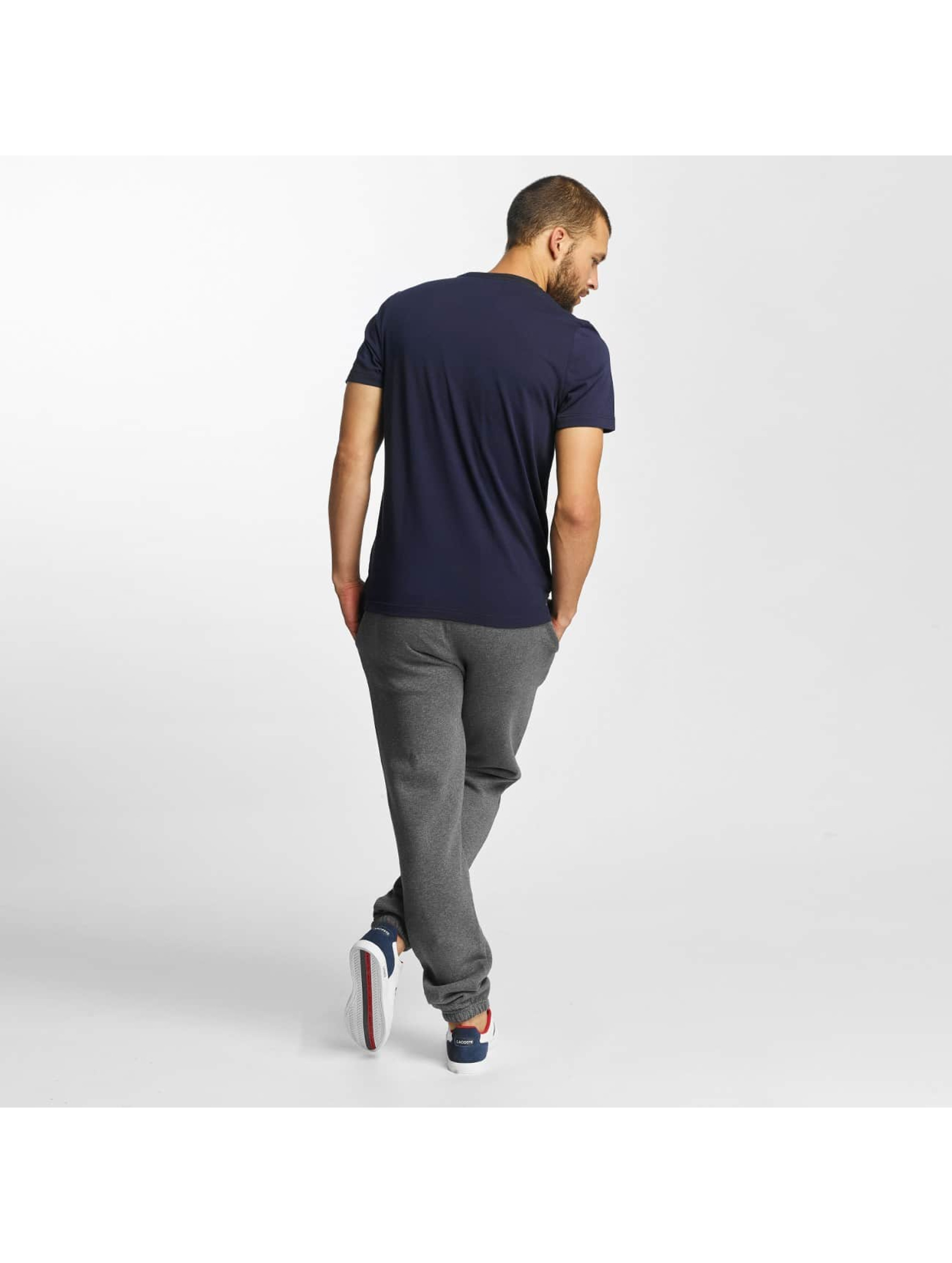 Lacoste Classic T-Shirty Kroko niebieski