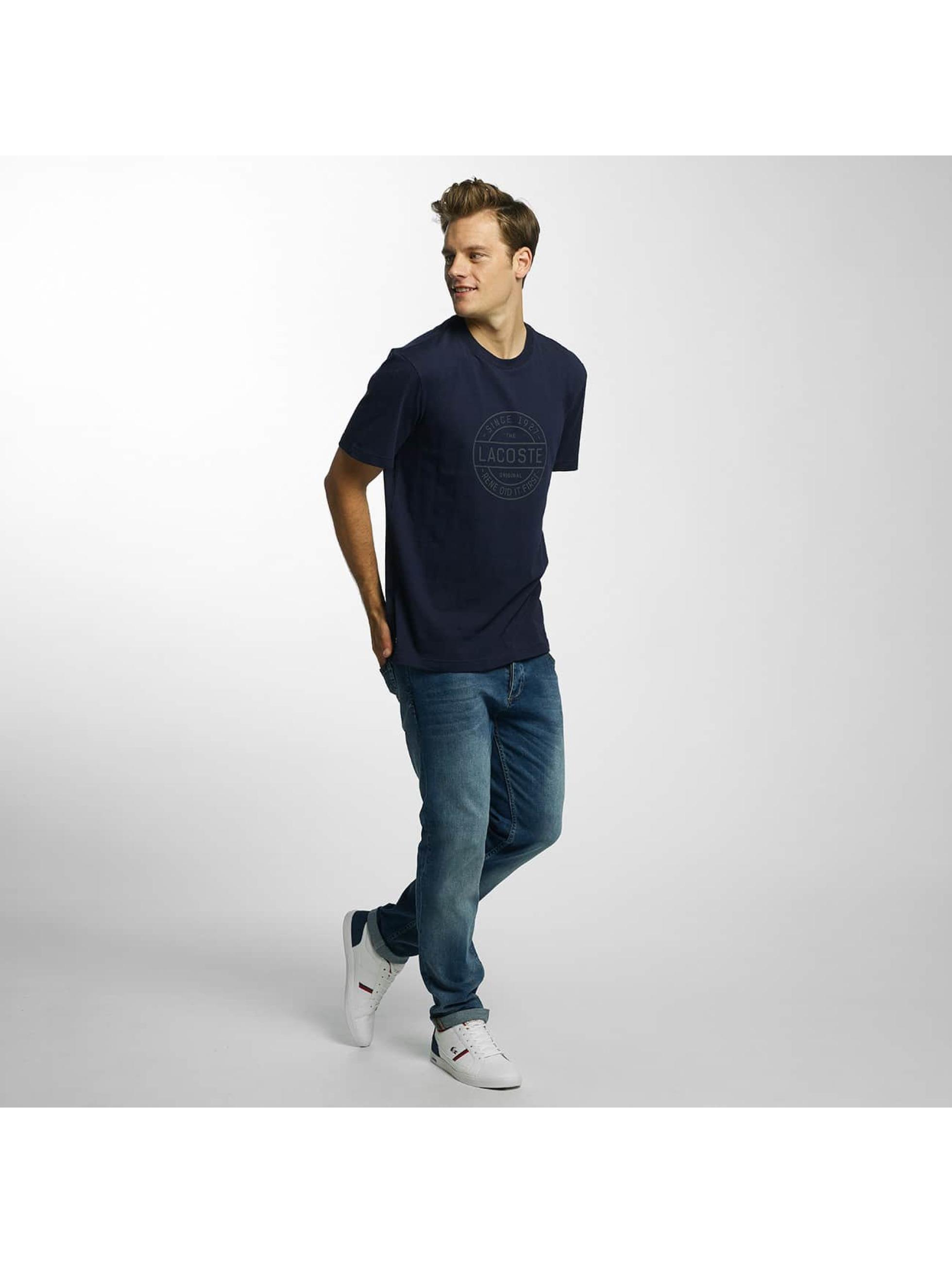 Lacoste Classic T-skjorter Original blå