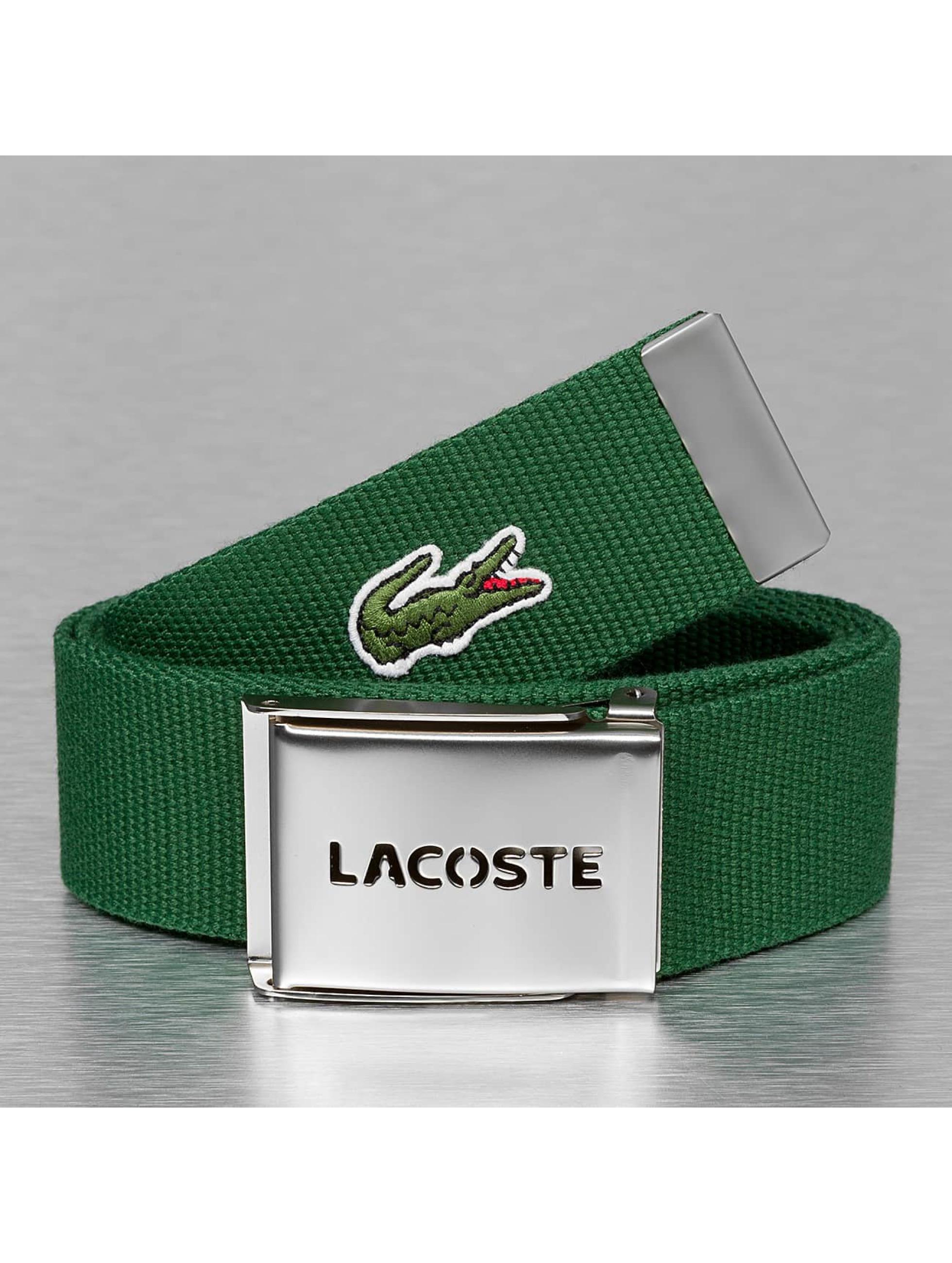 Lacoste Gürtel Classic grün