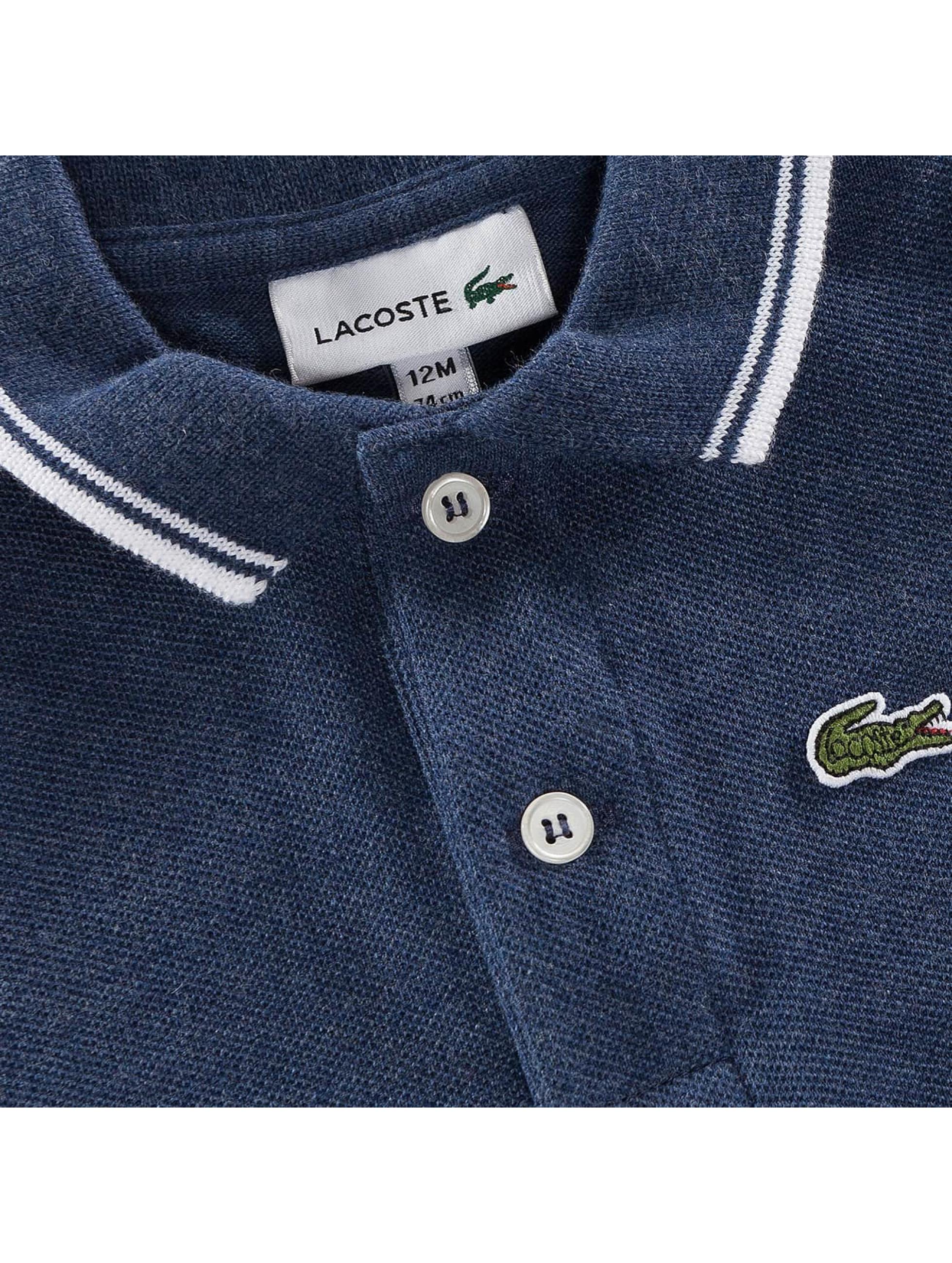 Lacoste Pikétröja Boy Pyjama blå