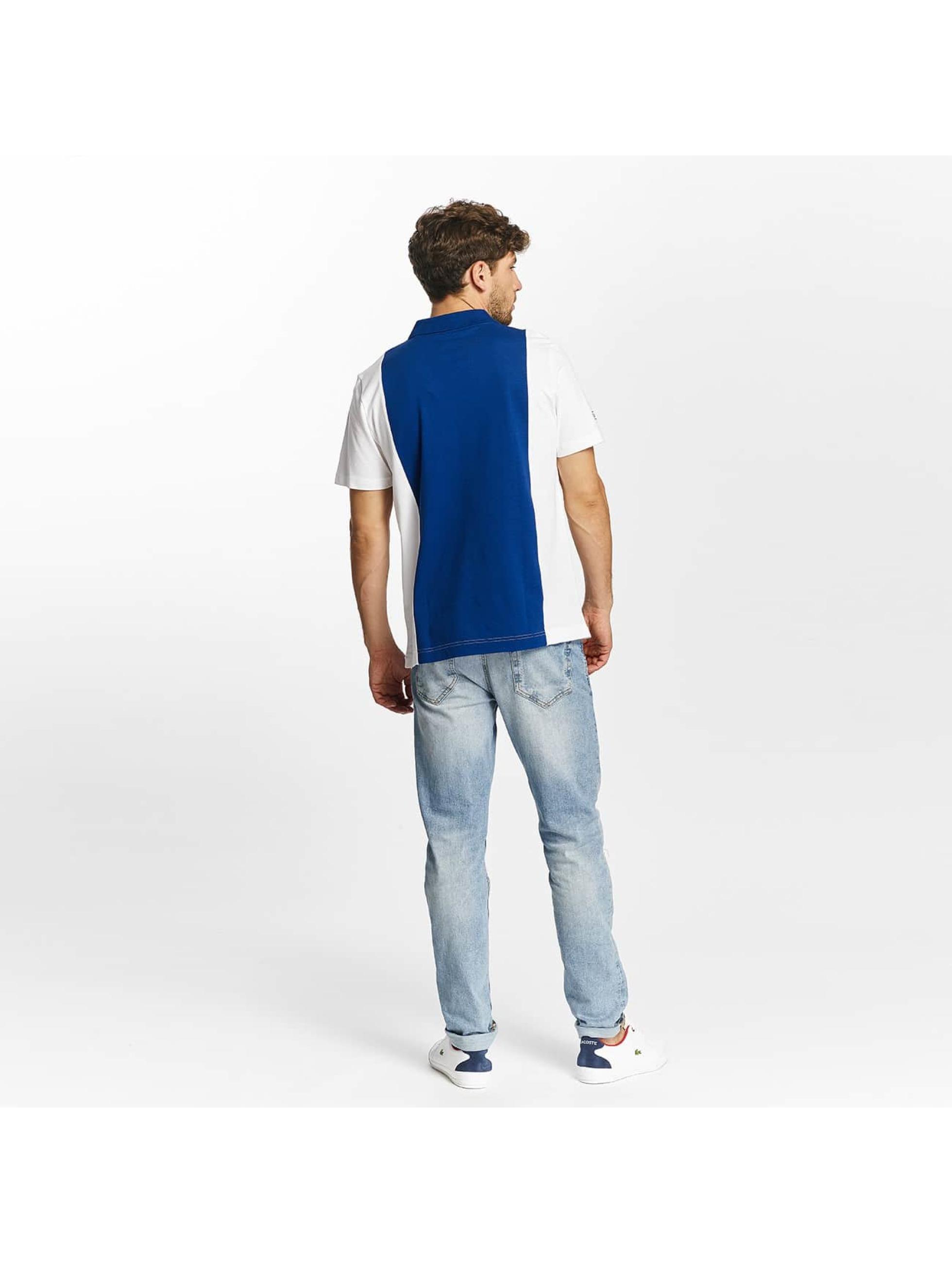 Lacoste Poloskjorter Short Sleeved Ribbed Collar mangefarget