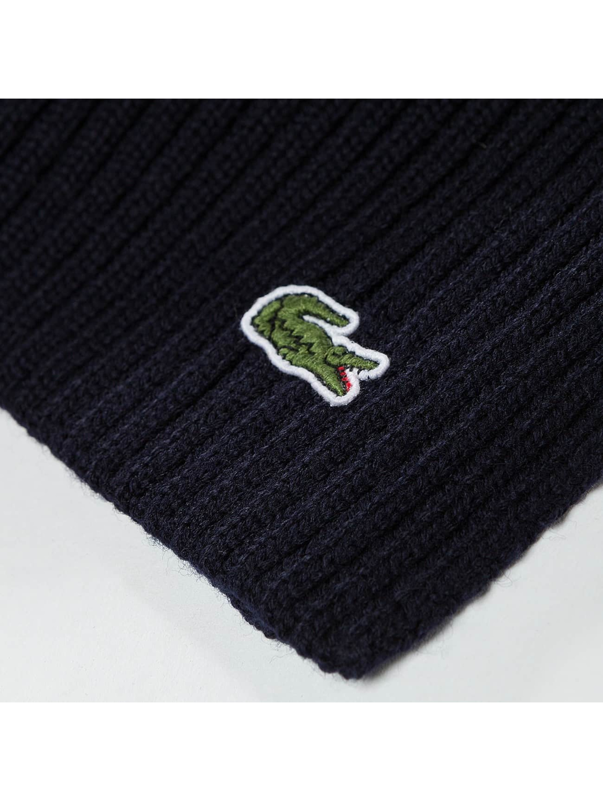 Lacoste Schal Knitted blau