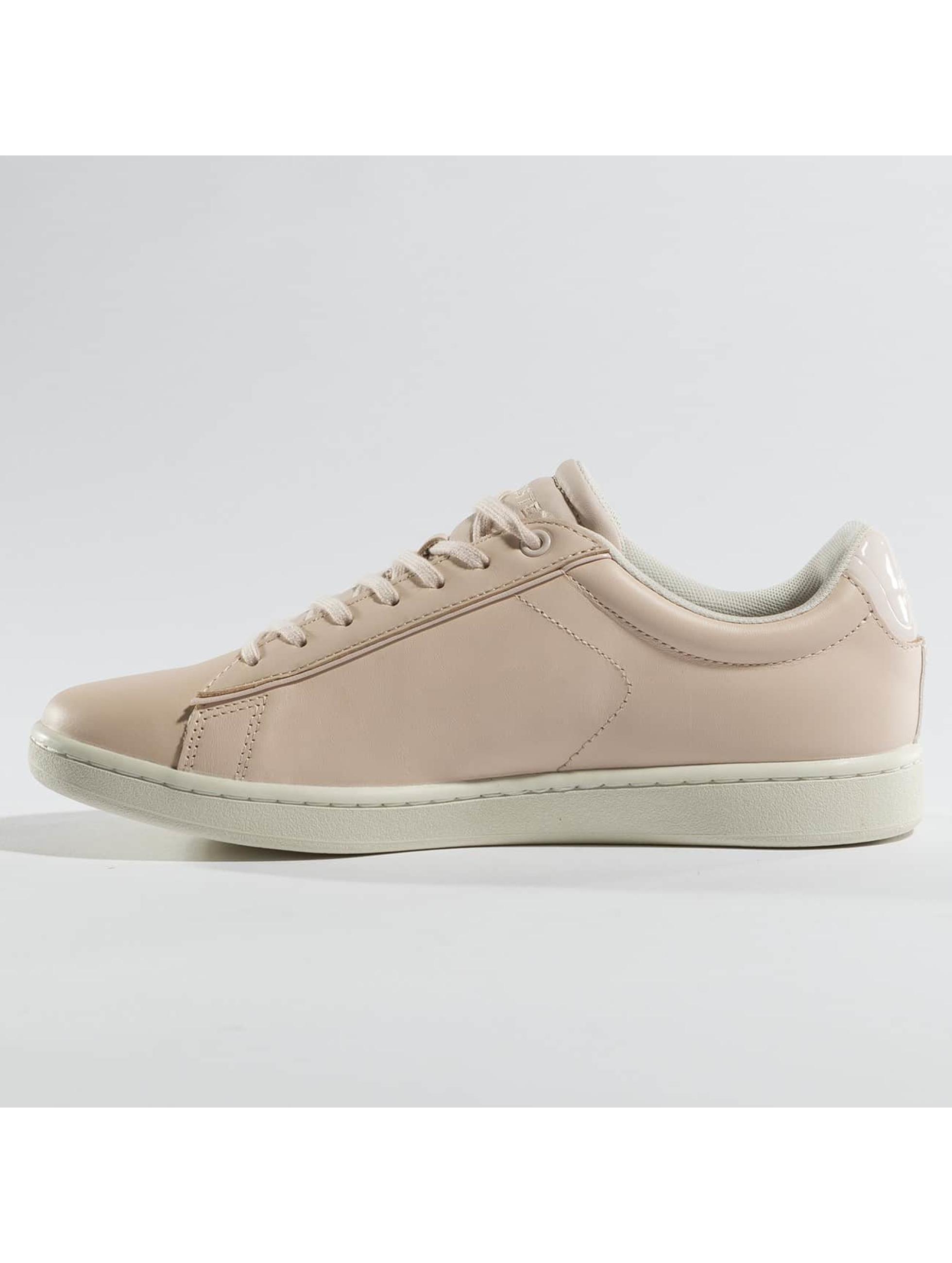 lacoste damen sneaker carnaby evo 417 1 spw in pink 371462. Black Bedroom Furniture Sets. Home Design Ideas