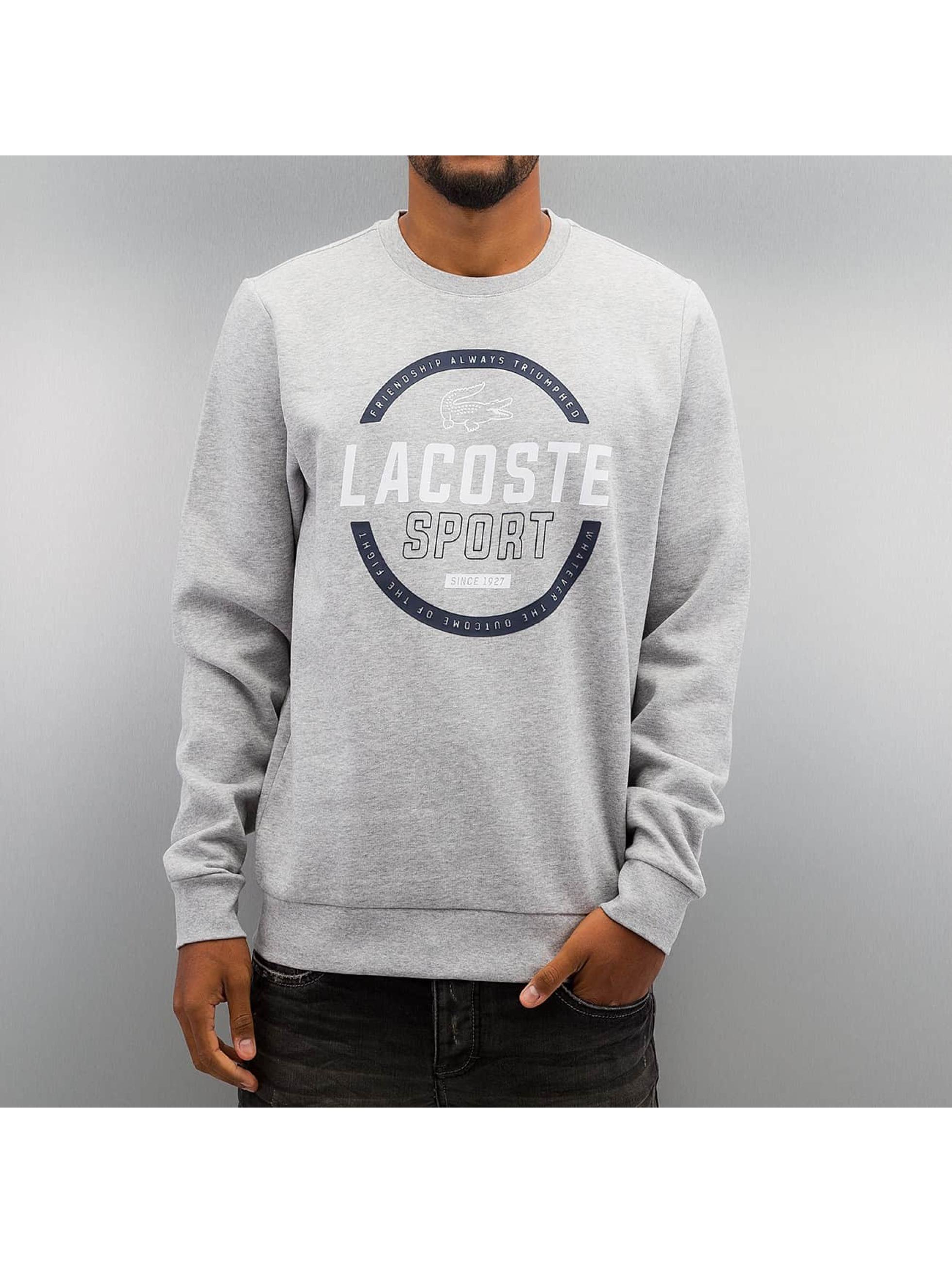 Lacoste Swetry Logo szary