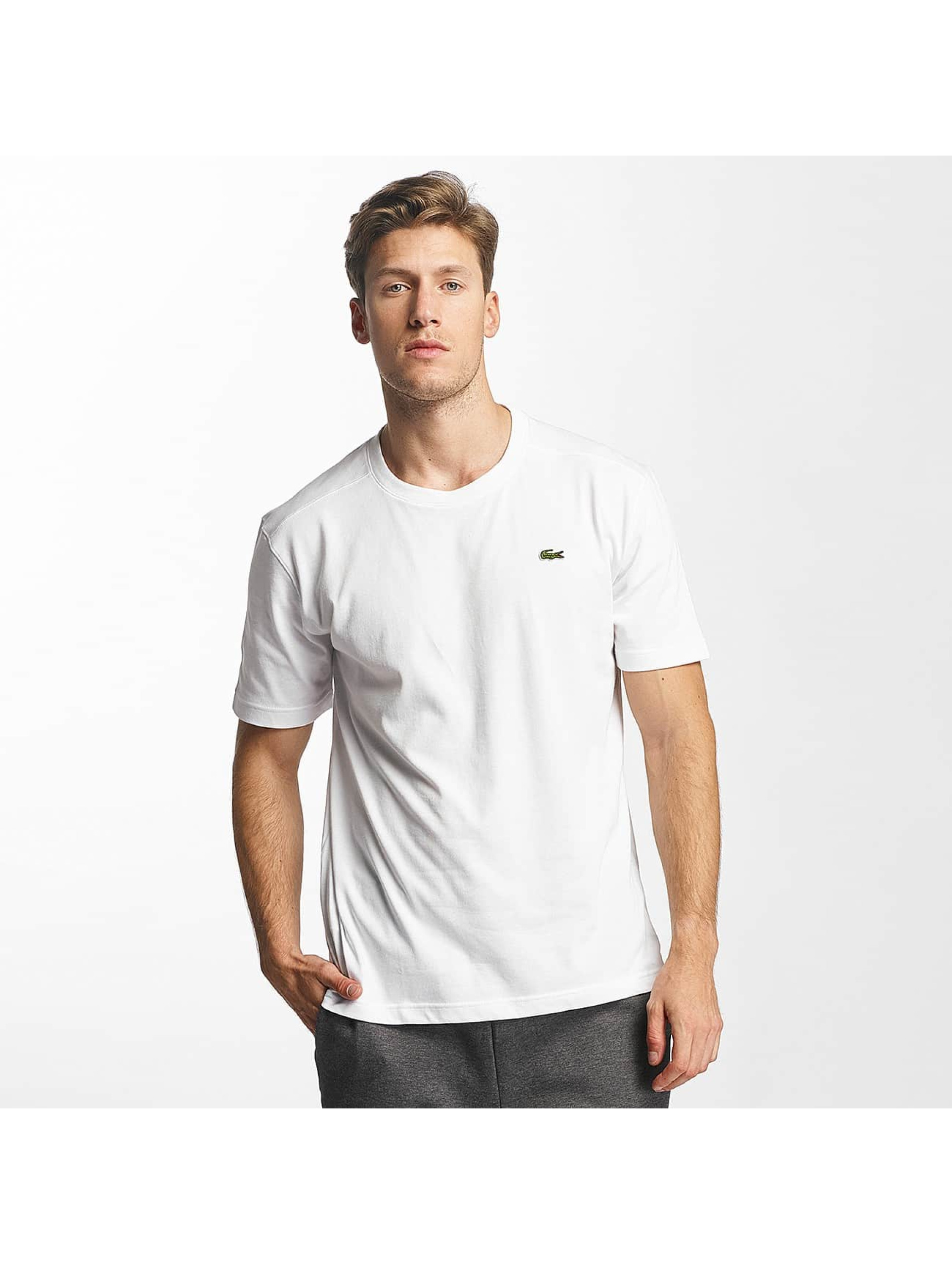 lacoste clean blanc homme t shirt 352862. Black Bedroom Furniture Sets. Home Design Ideas