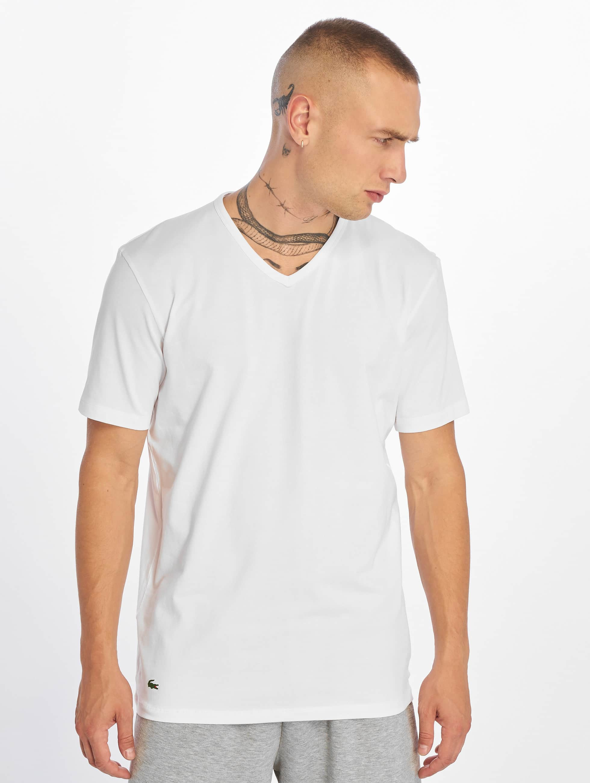 Lacoste T-Shirt 2-Pack V/N blanc