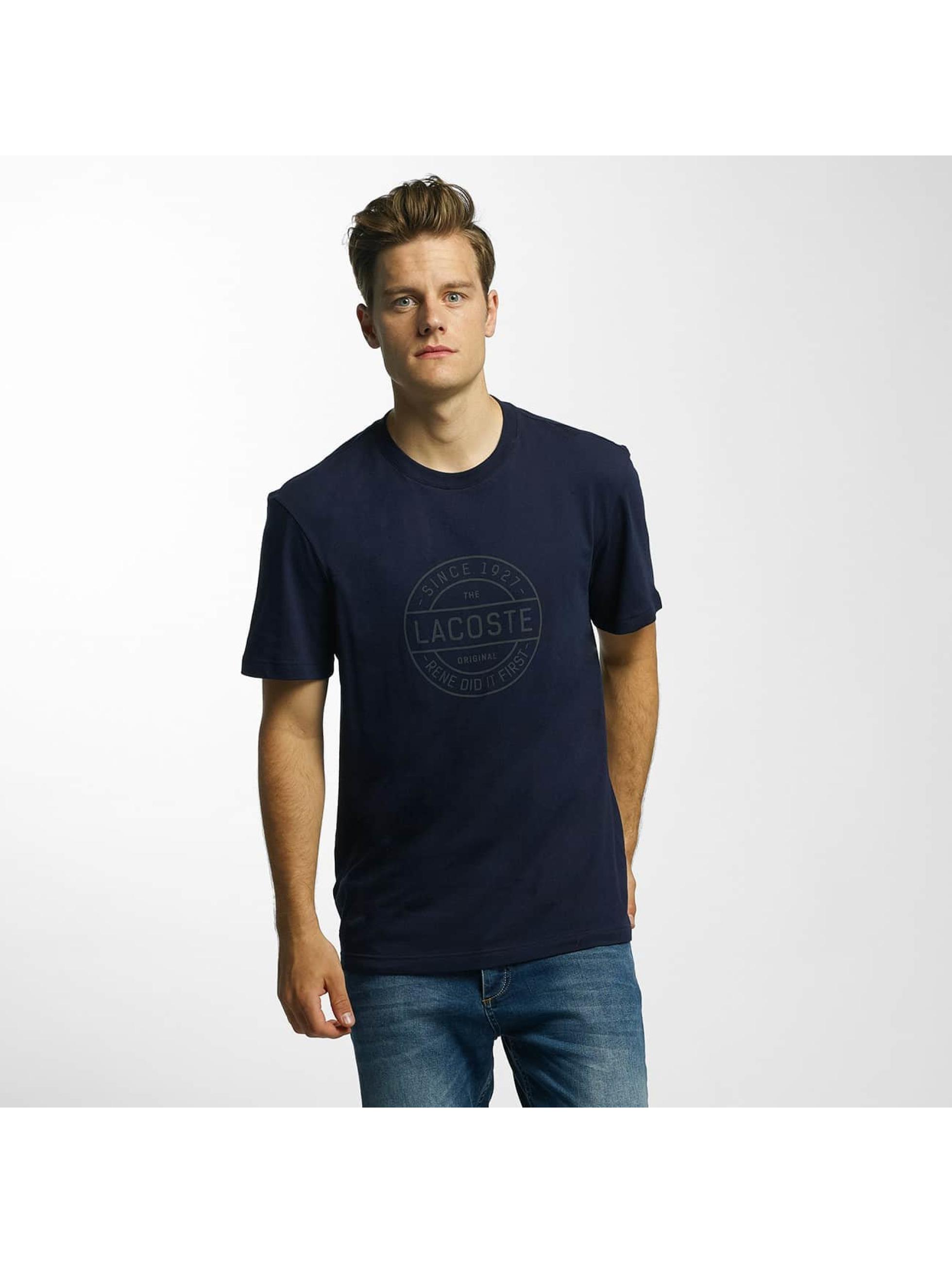 Lacoste T-Shirt Original blau