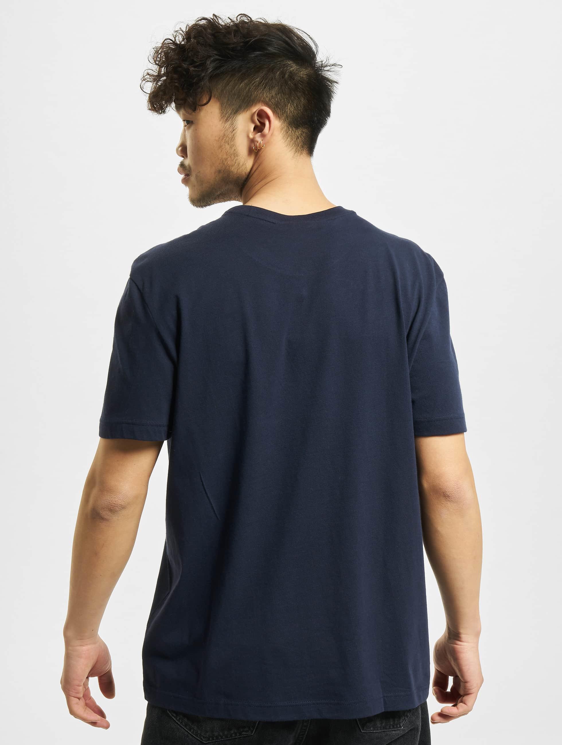 lacoste basic bleu homme t shirt 163989. Black Bedroom Furniture Sets. Home Design Ideas