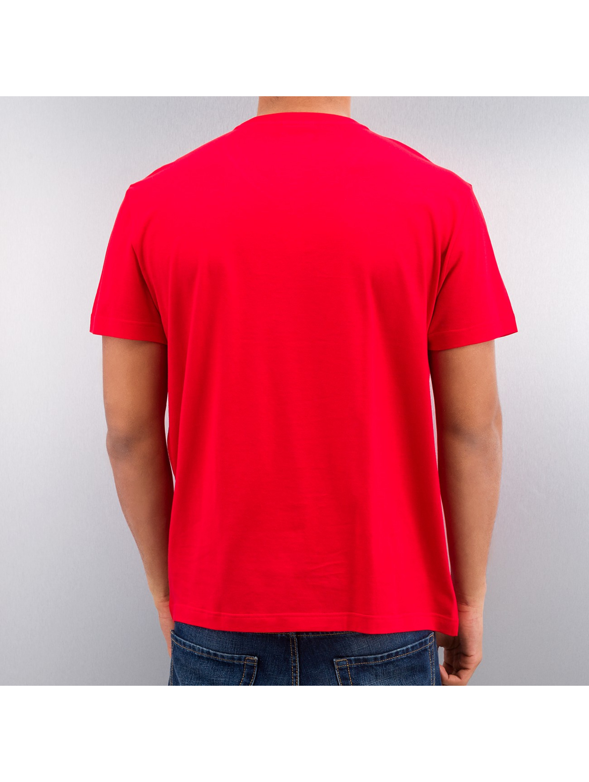 lacoste classic rouge homme t shirt 163977