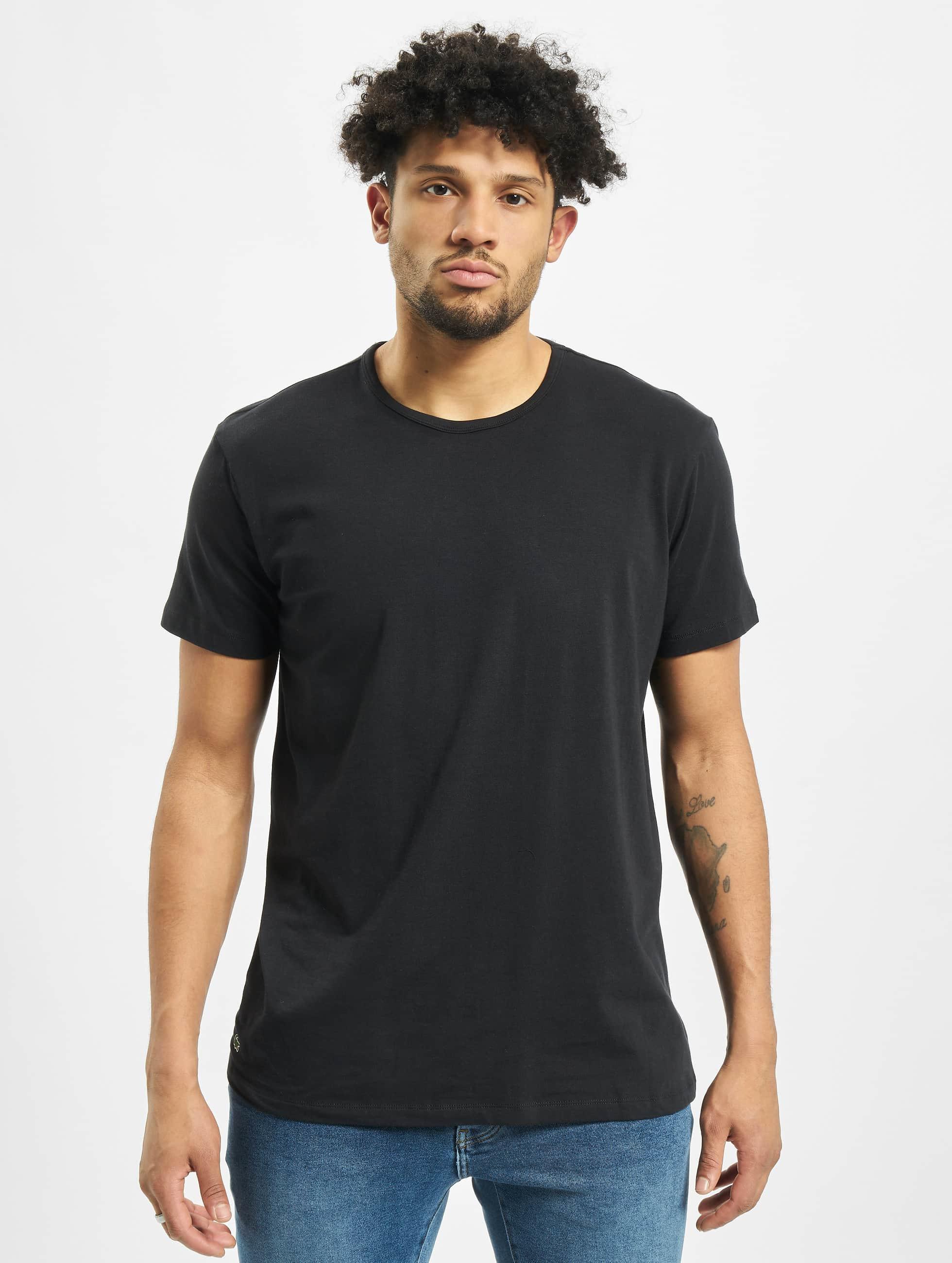 Lacoste T-Shirt 2-Pack C/N schwarz