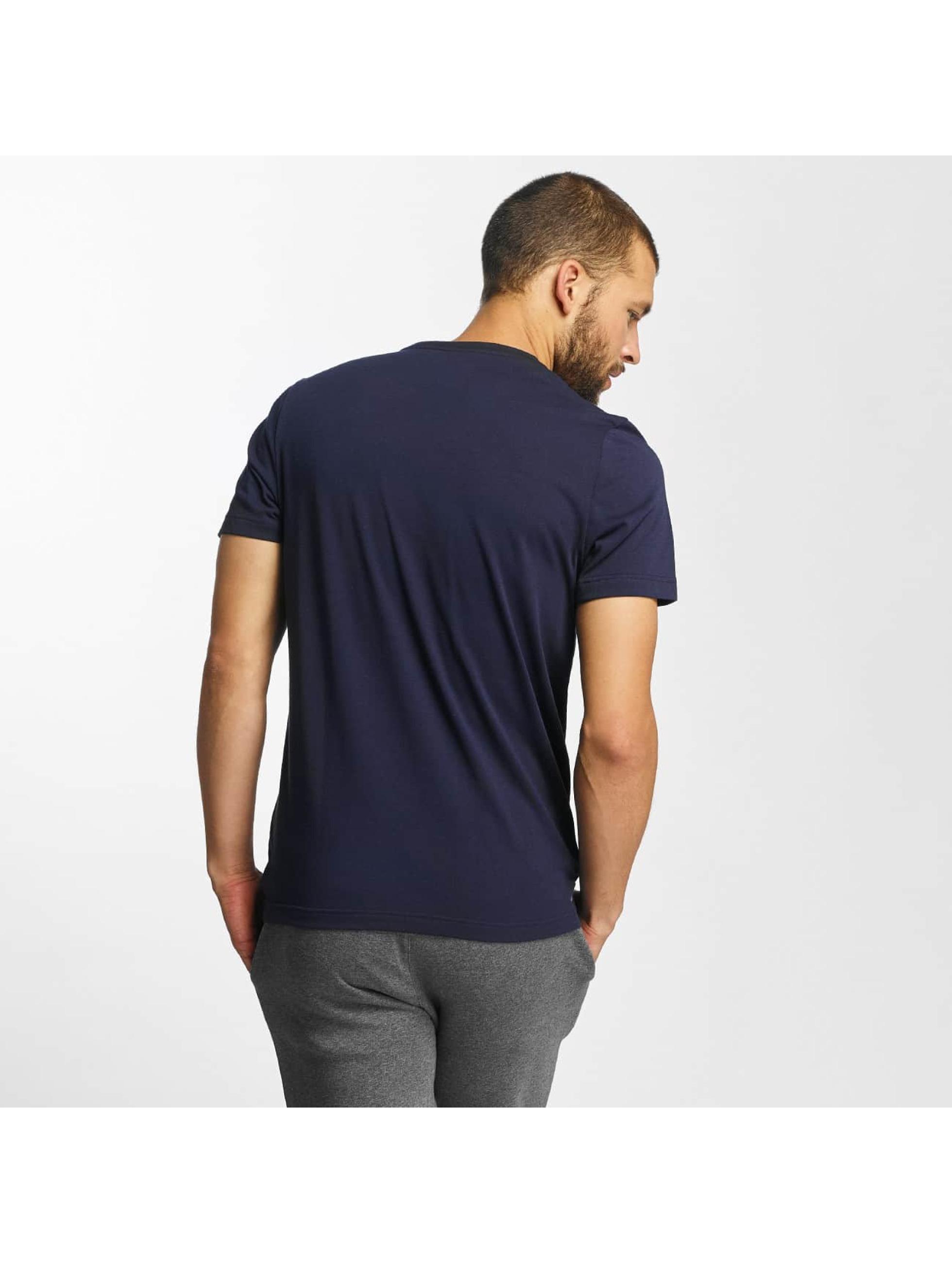 Lacoste T-Shirty Kroko niebieski
