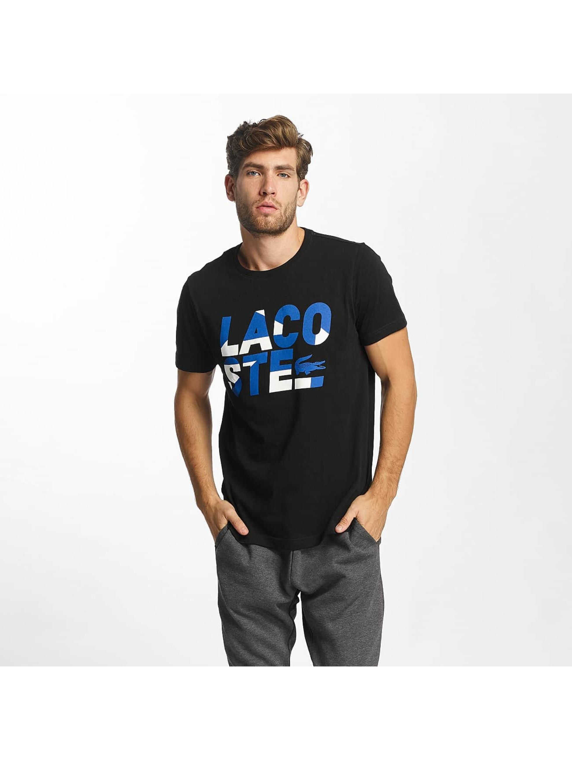 Lacoste T-skjorter TH8134 svart
