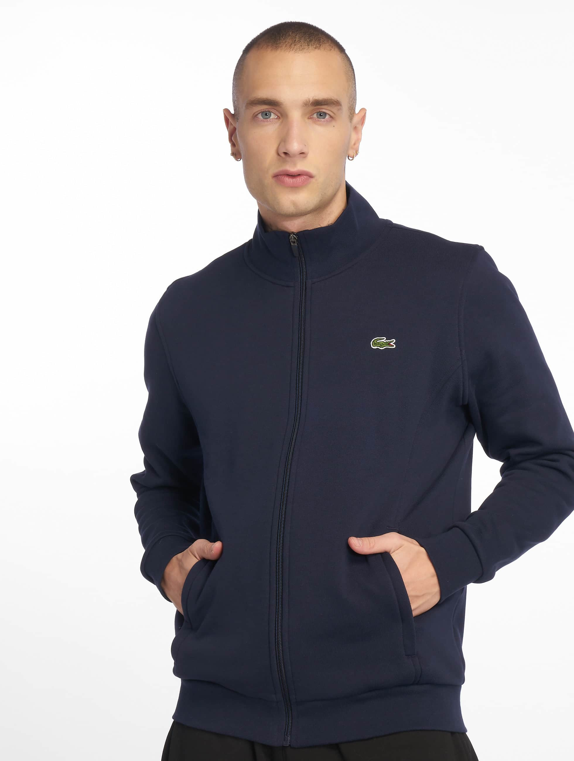 lacoste sweat bleu homme veste mi saison l g re 235602. Black Bedroom Furniture Sets. Home Design Ideas