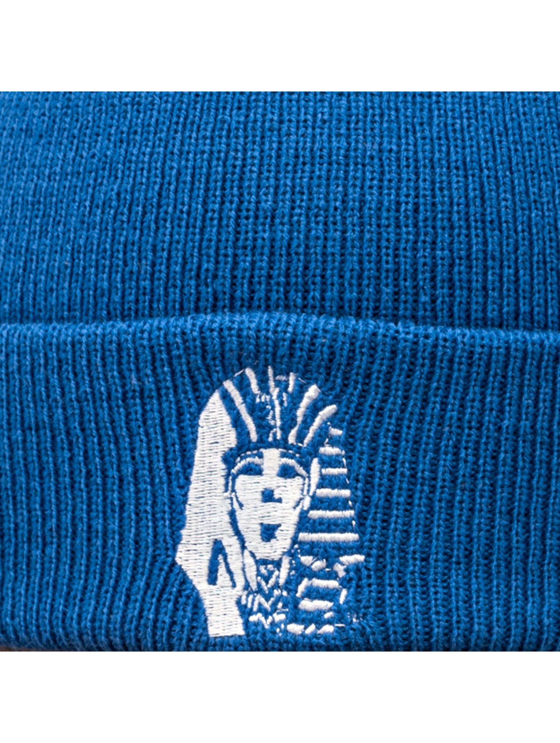 Last Kings Beanie Pharoh blau