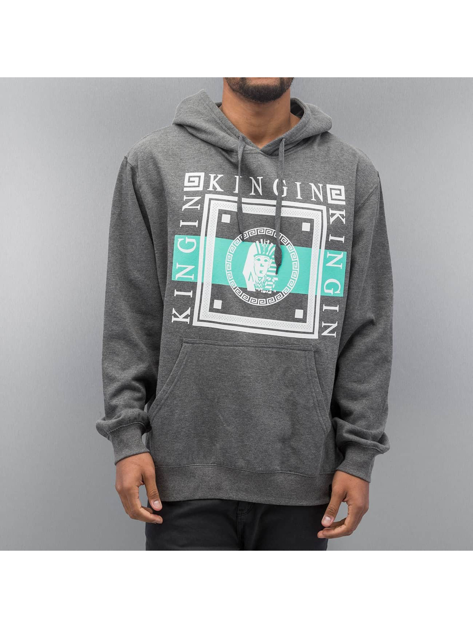 Last Kings Hoody Walls grau
